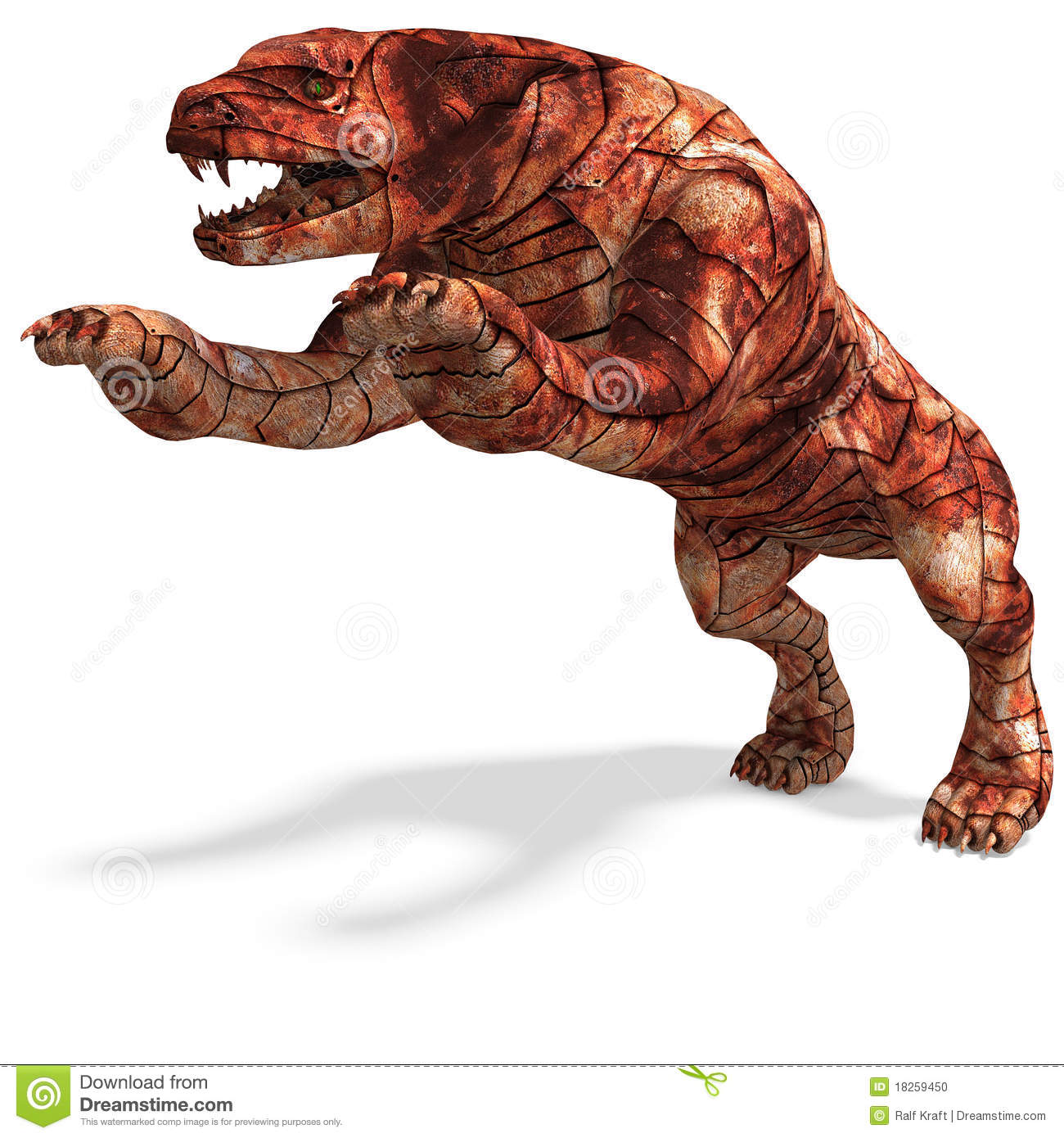 Cerberus The Dog From Hell Stock Illustration Image