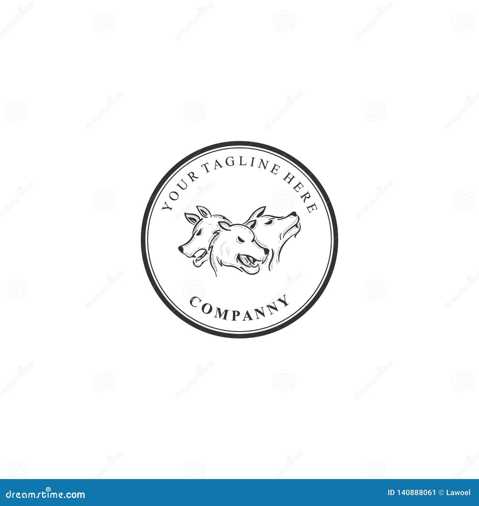 Cerberus, logo della società, custodicente