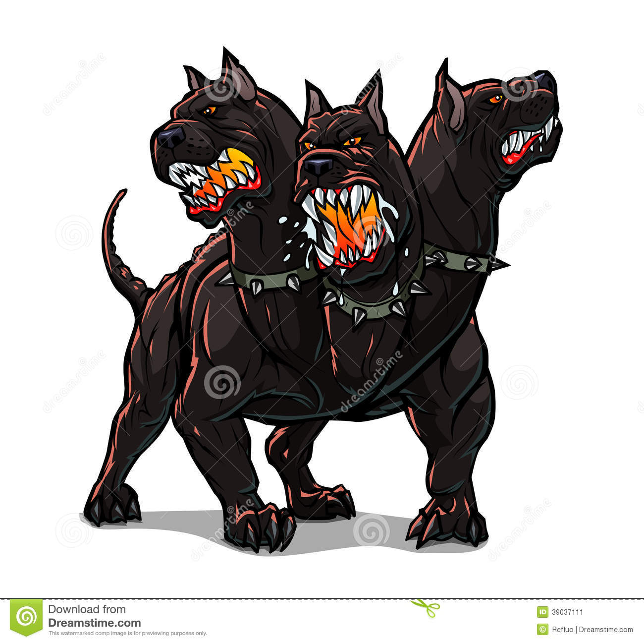 mad dog clipart