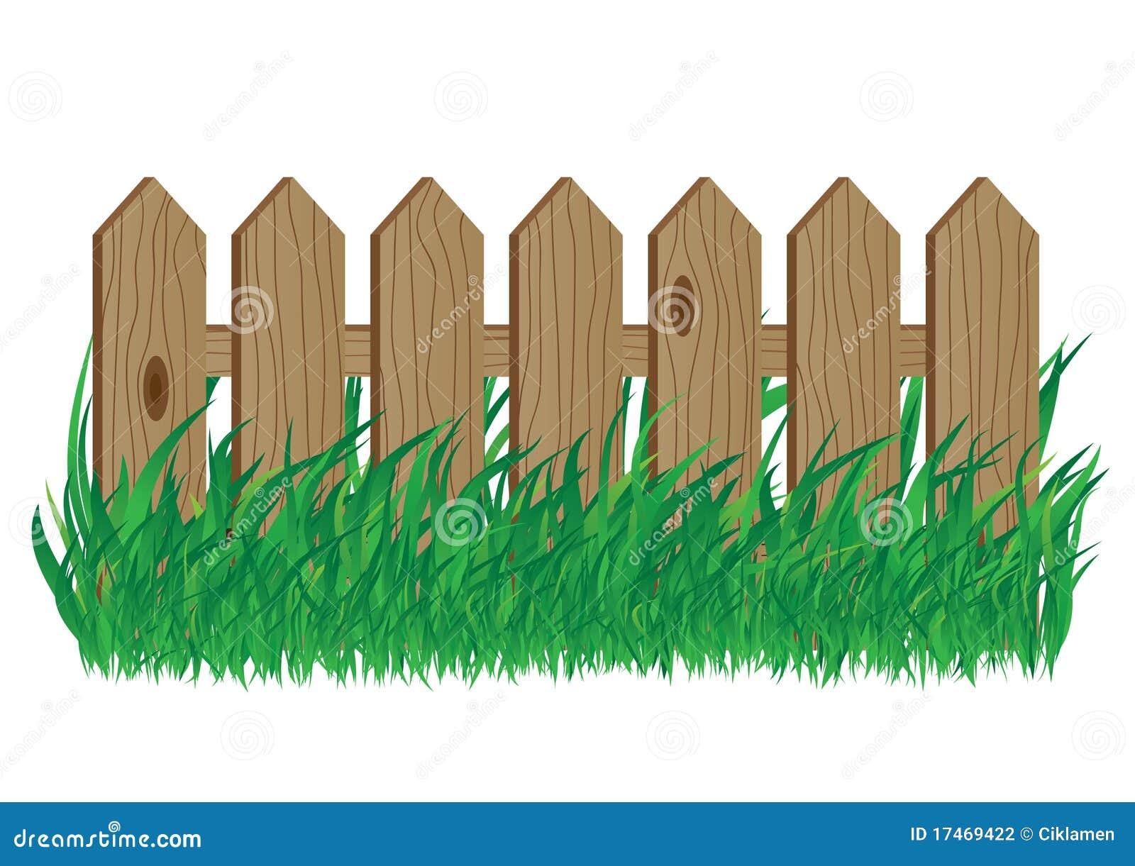 Cerca de madeira fotografia de stock imagem 17469422 - Cercas de jardin ...