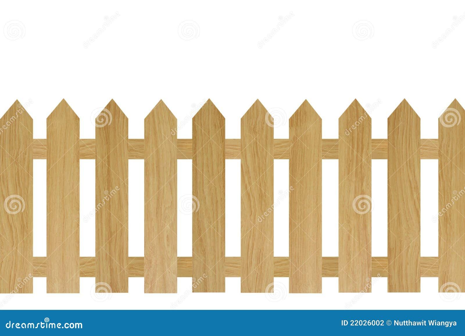 Cerca de madeira de brown fotografia de stock imagem - Cercas de madera ...