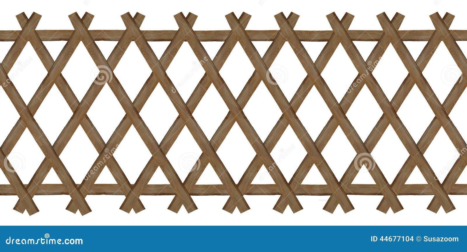 cerca de madeira para jardim passo a passo:Cerca Marrom De Madeira Do Treliça-trabalho Foto de Stock – Imagem