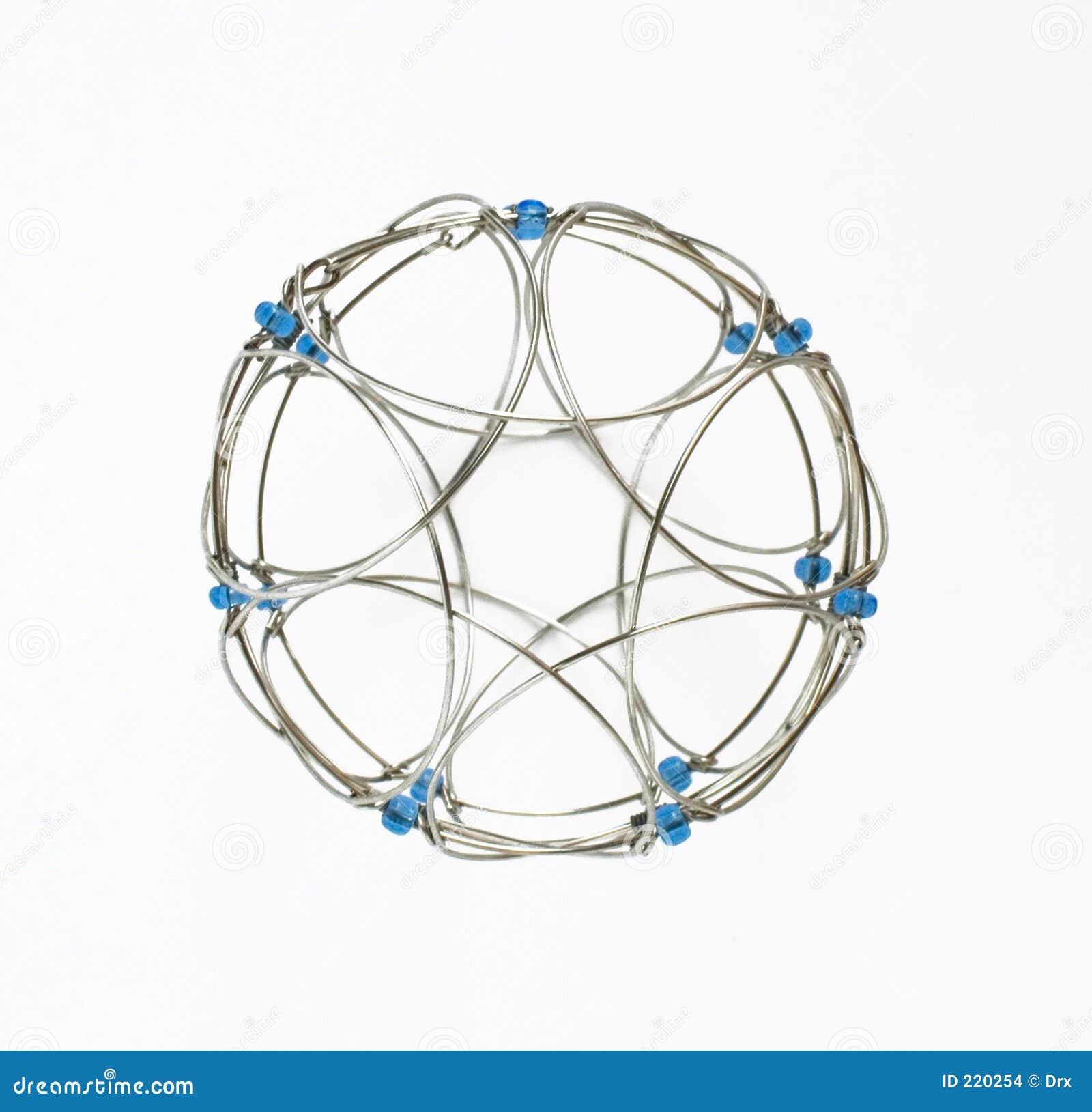 Cerchio rotondo isolato