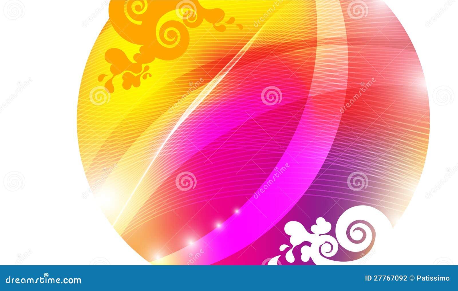Cercle d Absraction de couleur