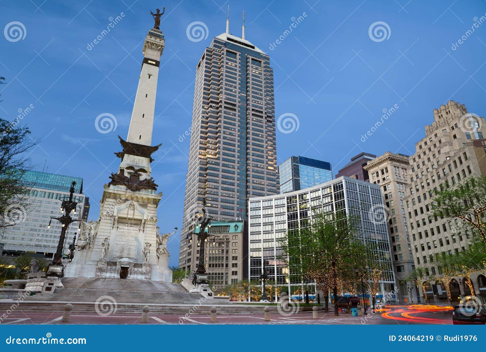 Cercle de monument, Indianapolis, Indiana