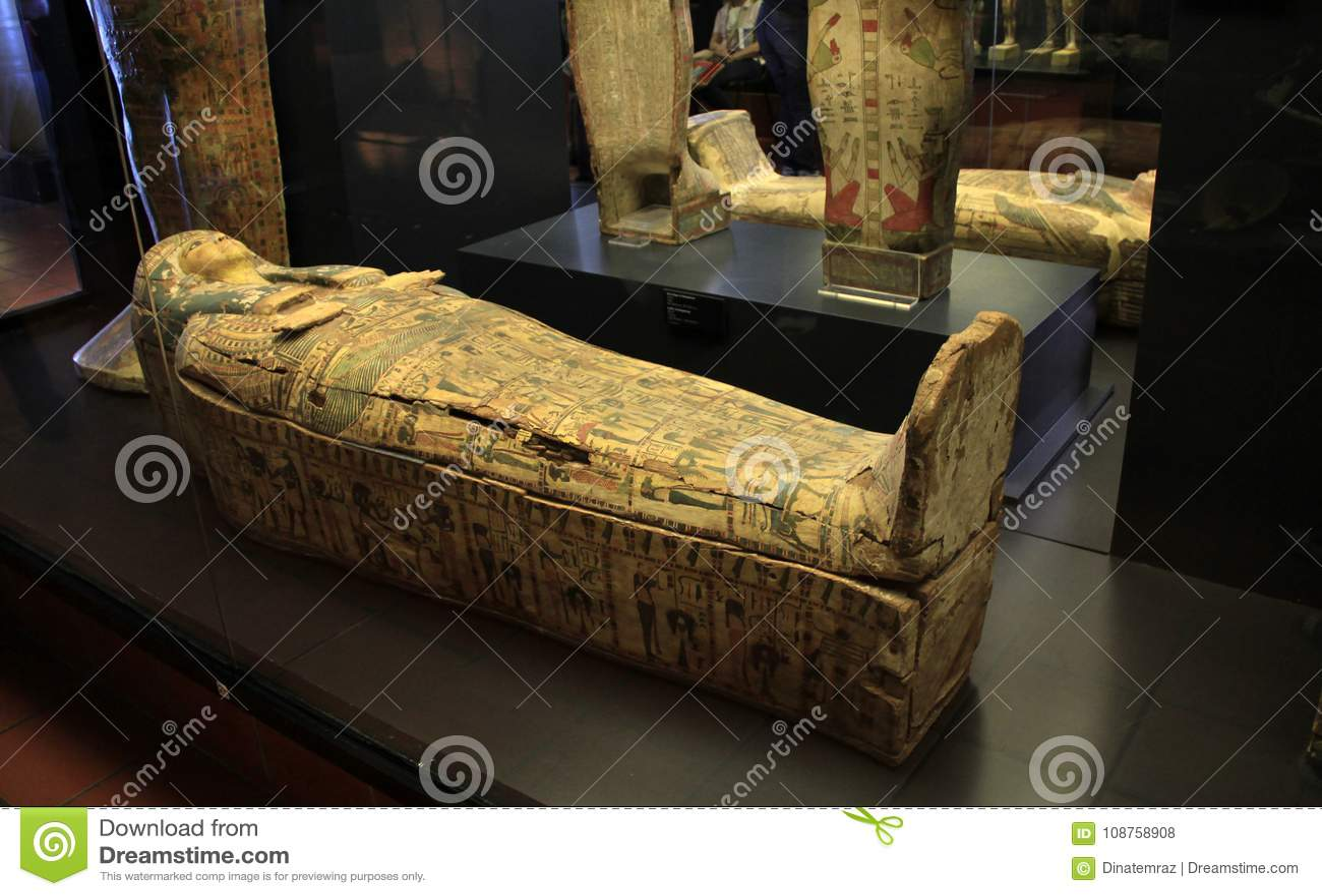 Cercueil égyptien