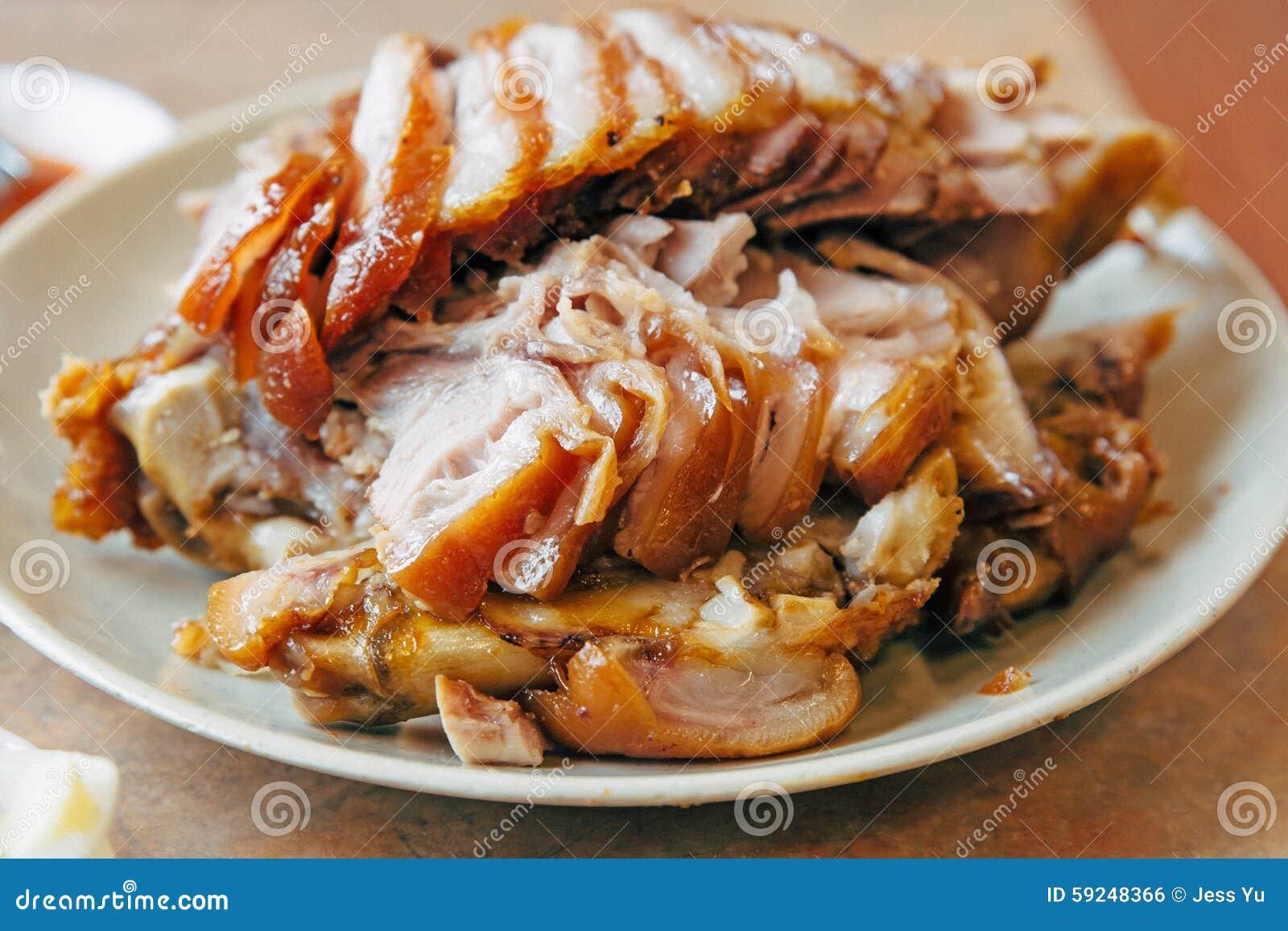Cerdo asado estilo coreano