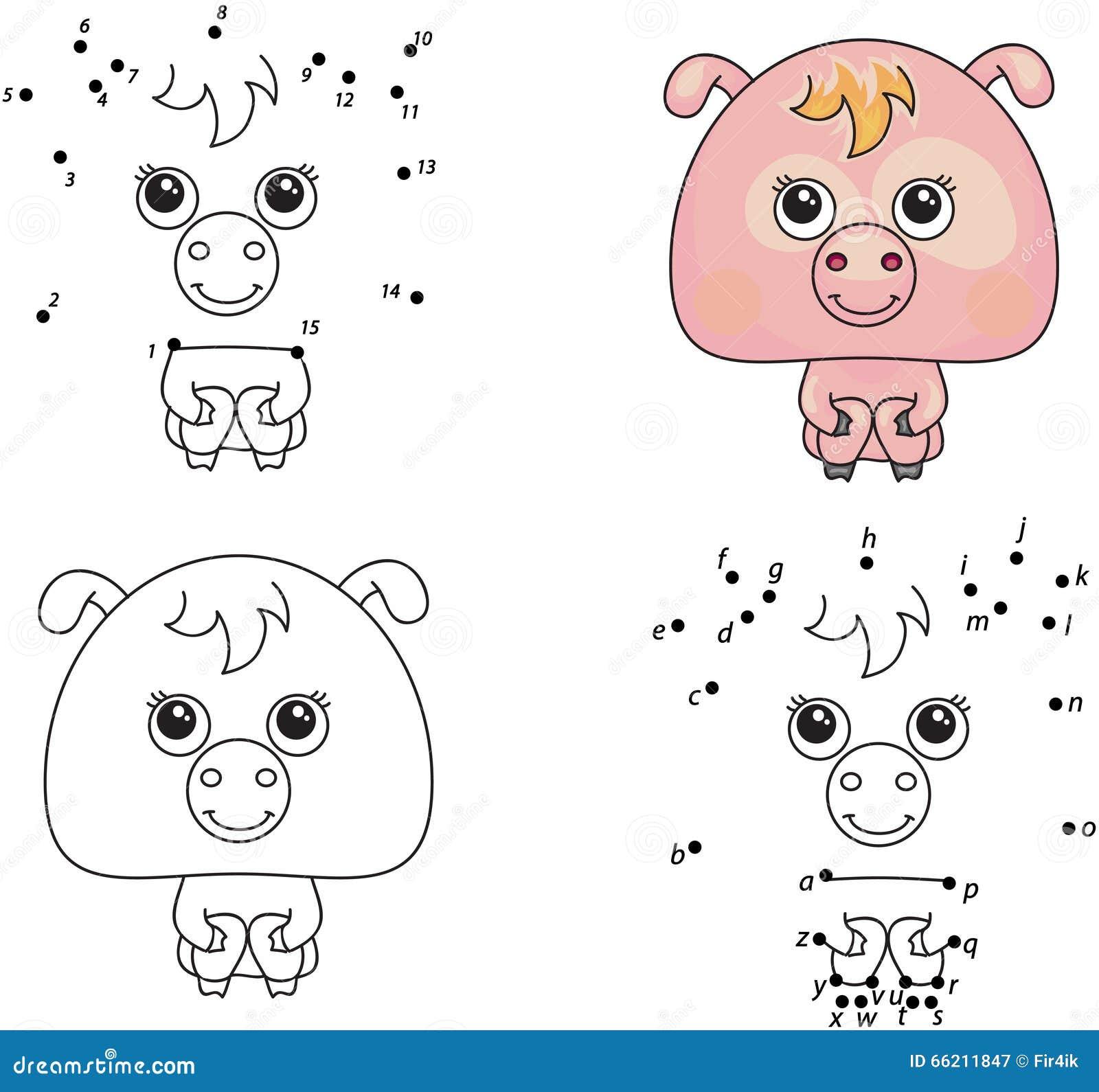Moderno Cerdos Colorantes Inspiración - Enmarcado Para Colorear ...