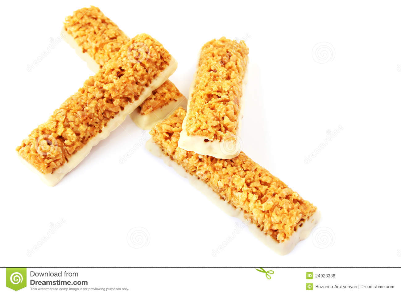 Cereal Bars Royalty Free Stock Photos - Image: 24923338
