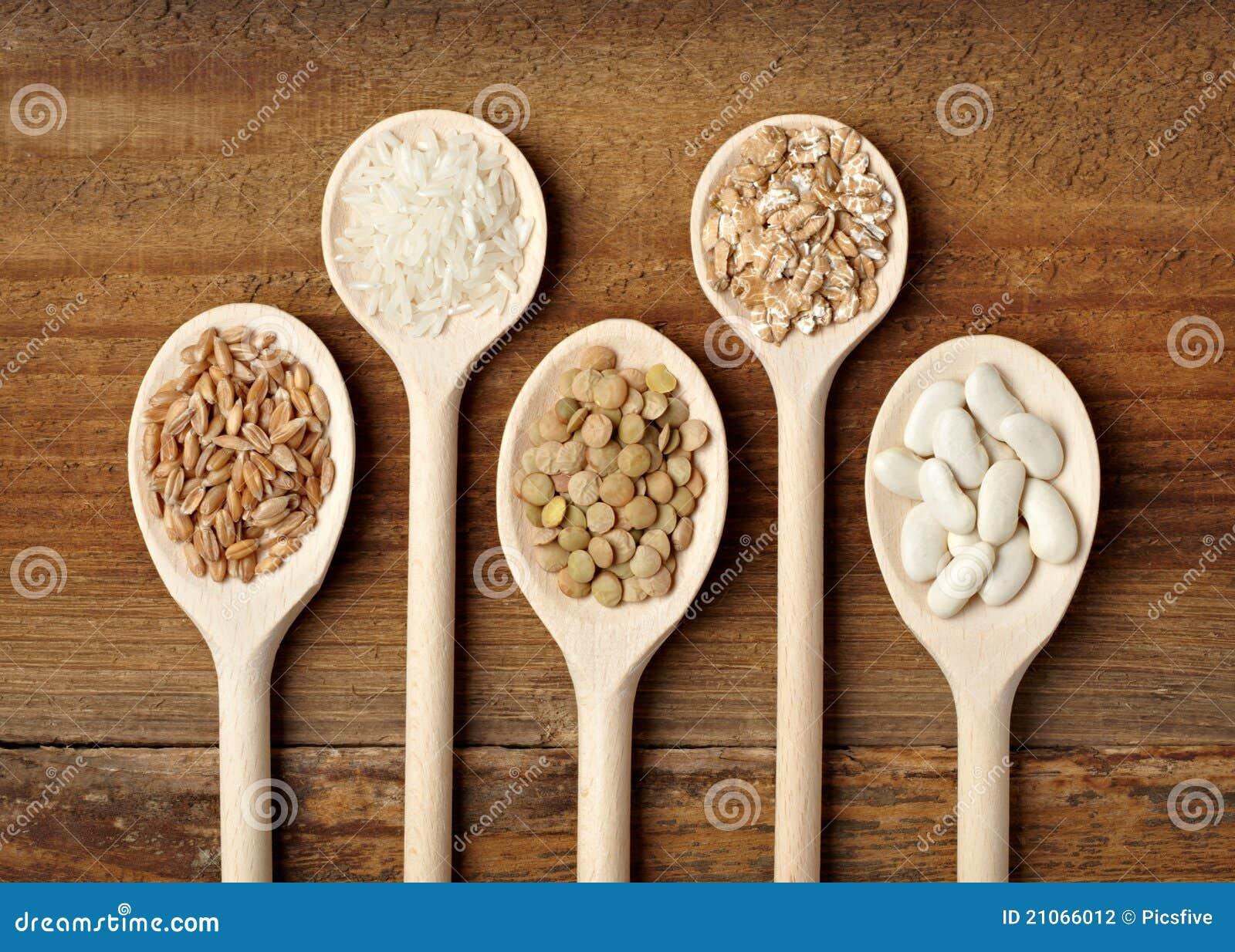 Cereal de la haba del arroz de los ingredientes alimentarios
