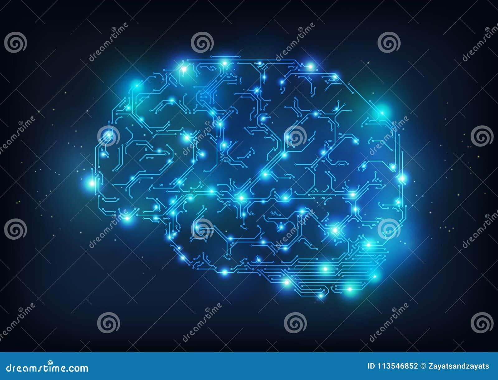 Cerebro de alta tecnología