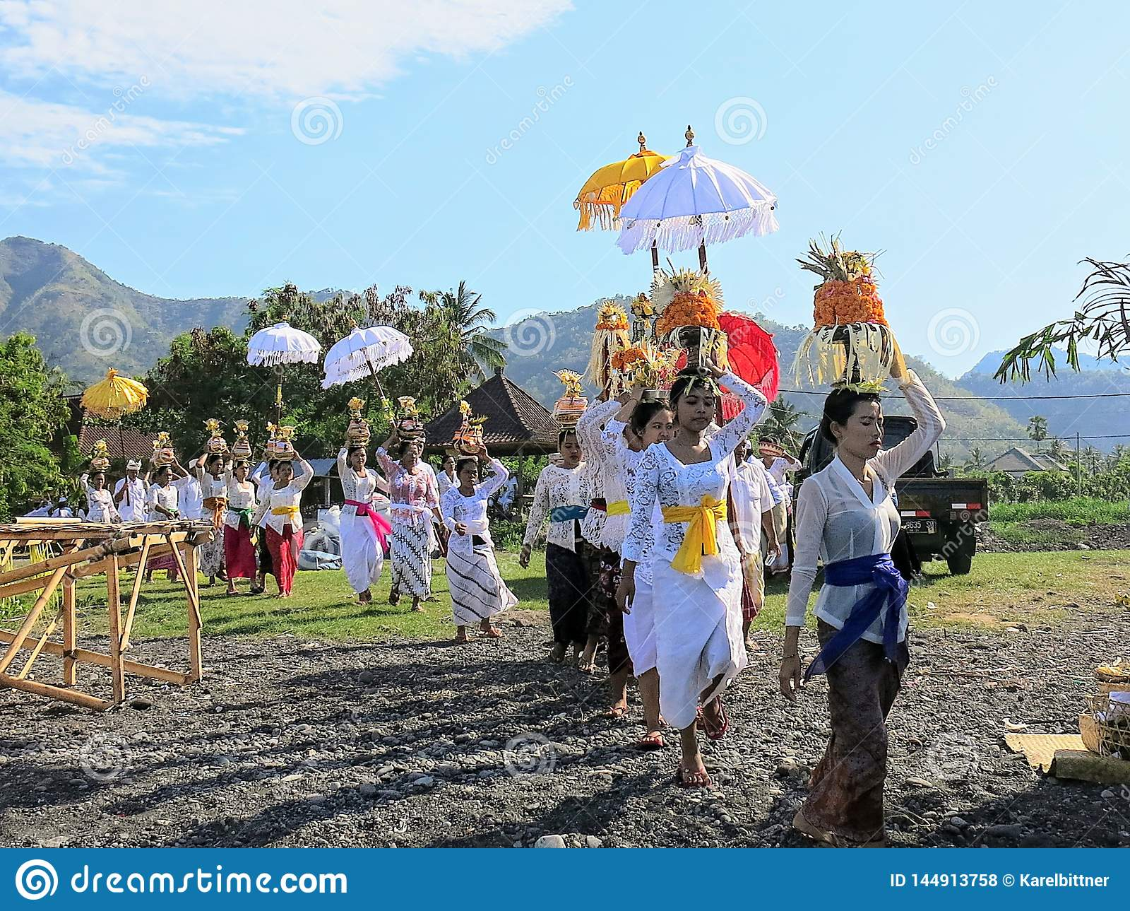 Ceremoni i bali