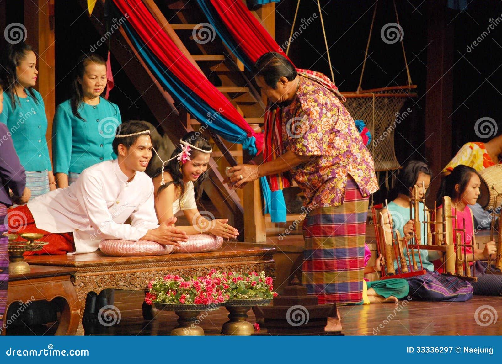 Budista ceremonia de boda