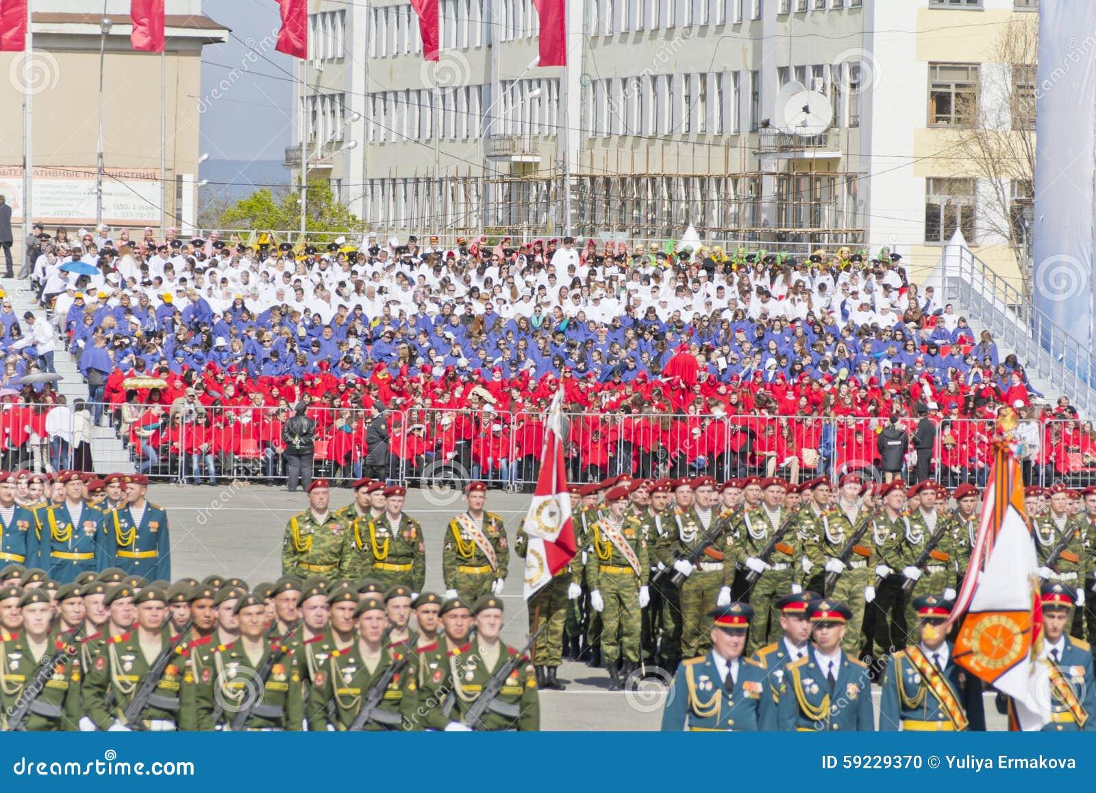 Download Ceremonia Rusa Del Desfile Militar De La Abertura En Vencedor Anual Imagen editorial - Imagen de nuclear, holiday: 59229370