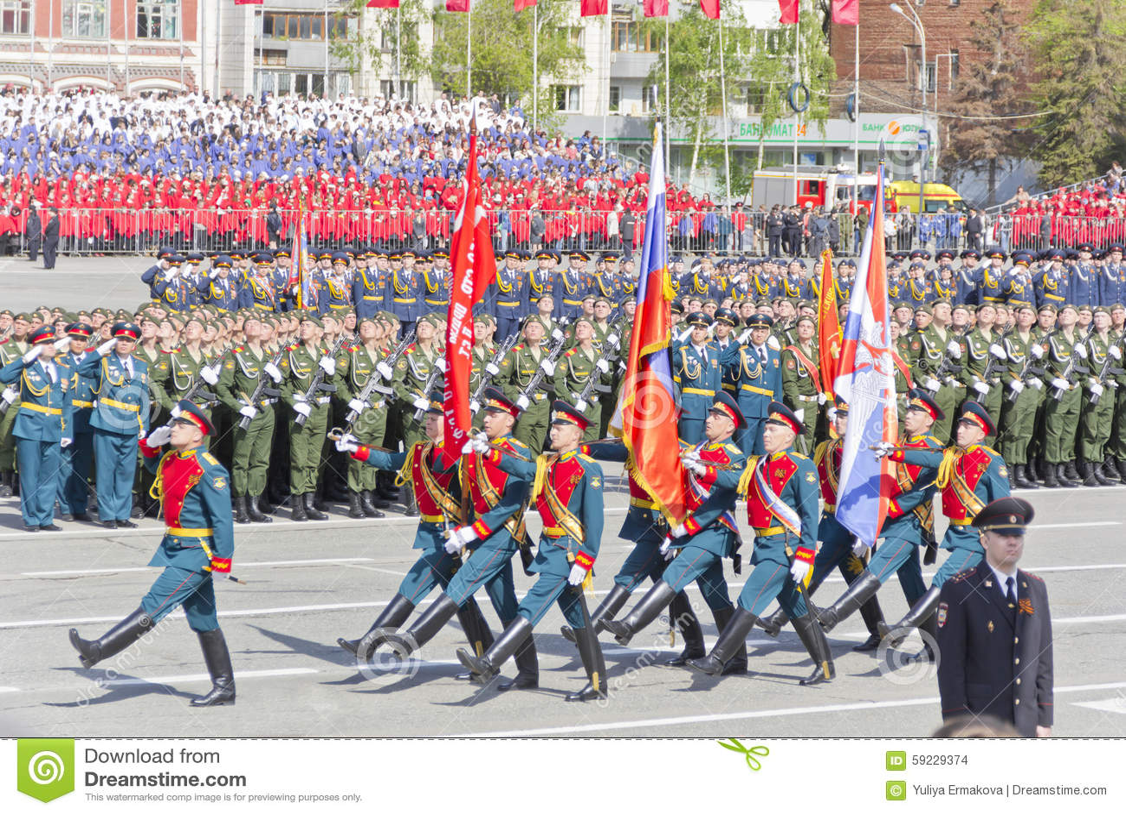 Download Ceremonia Rusa Del Desfile Militar De La Abertura En Vencedor Anual Imagen de archivo editorial - Imagen de combatiente, movilidad: 59229374