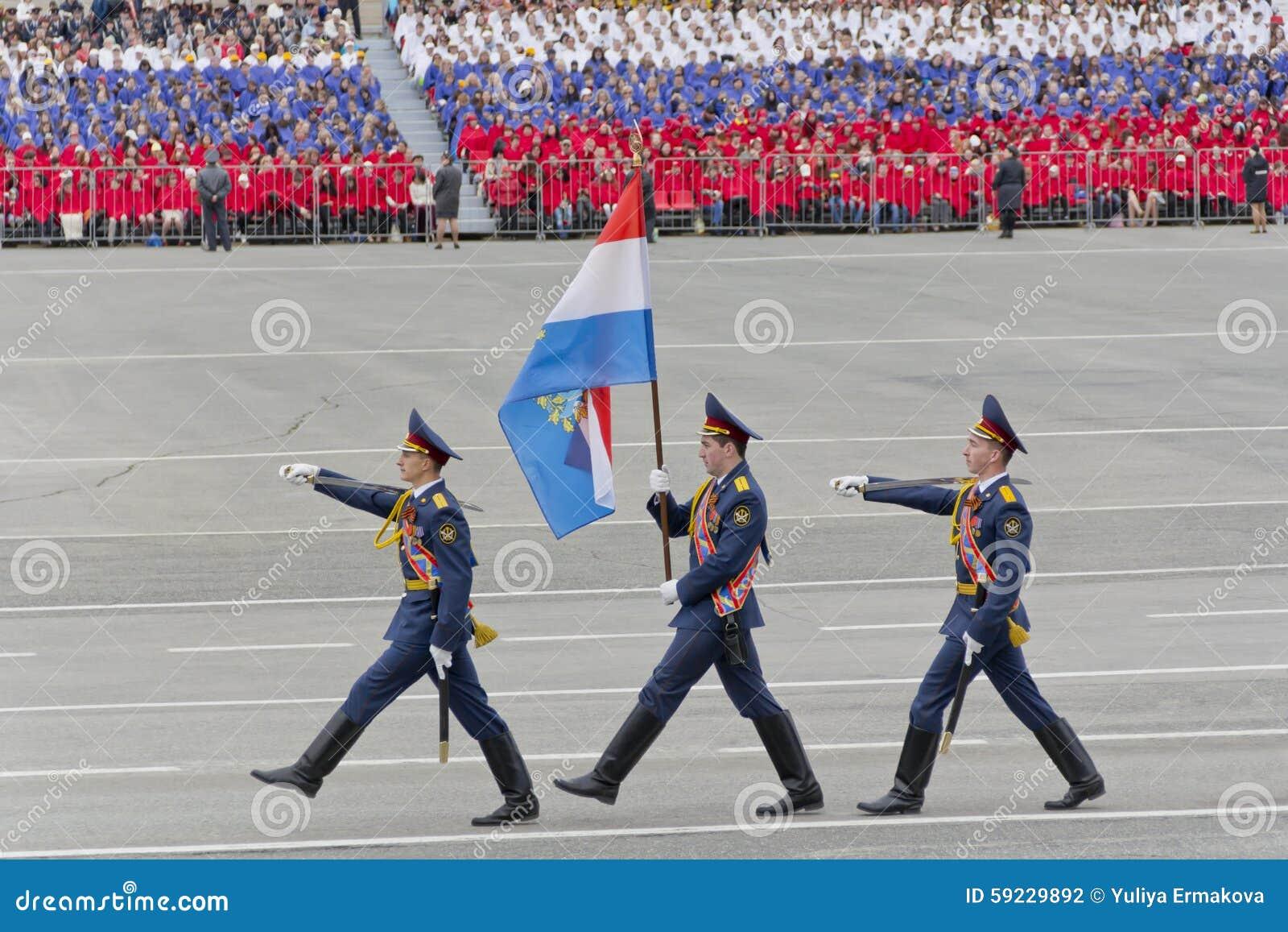Download Ceremonia Rusa Del Desfile Militar De La Abertura En Vencedor Anual Fotografía editorial - Imagen de desfile, holiday: 59229892