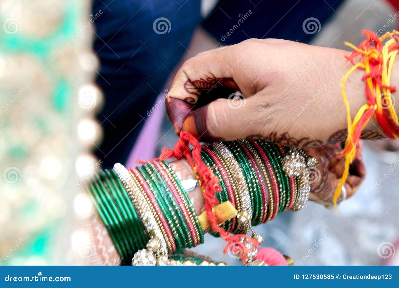 Ceremonial no casamento indiano