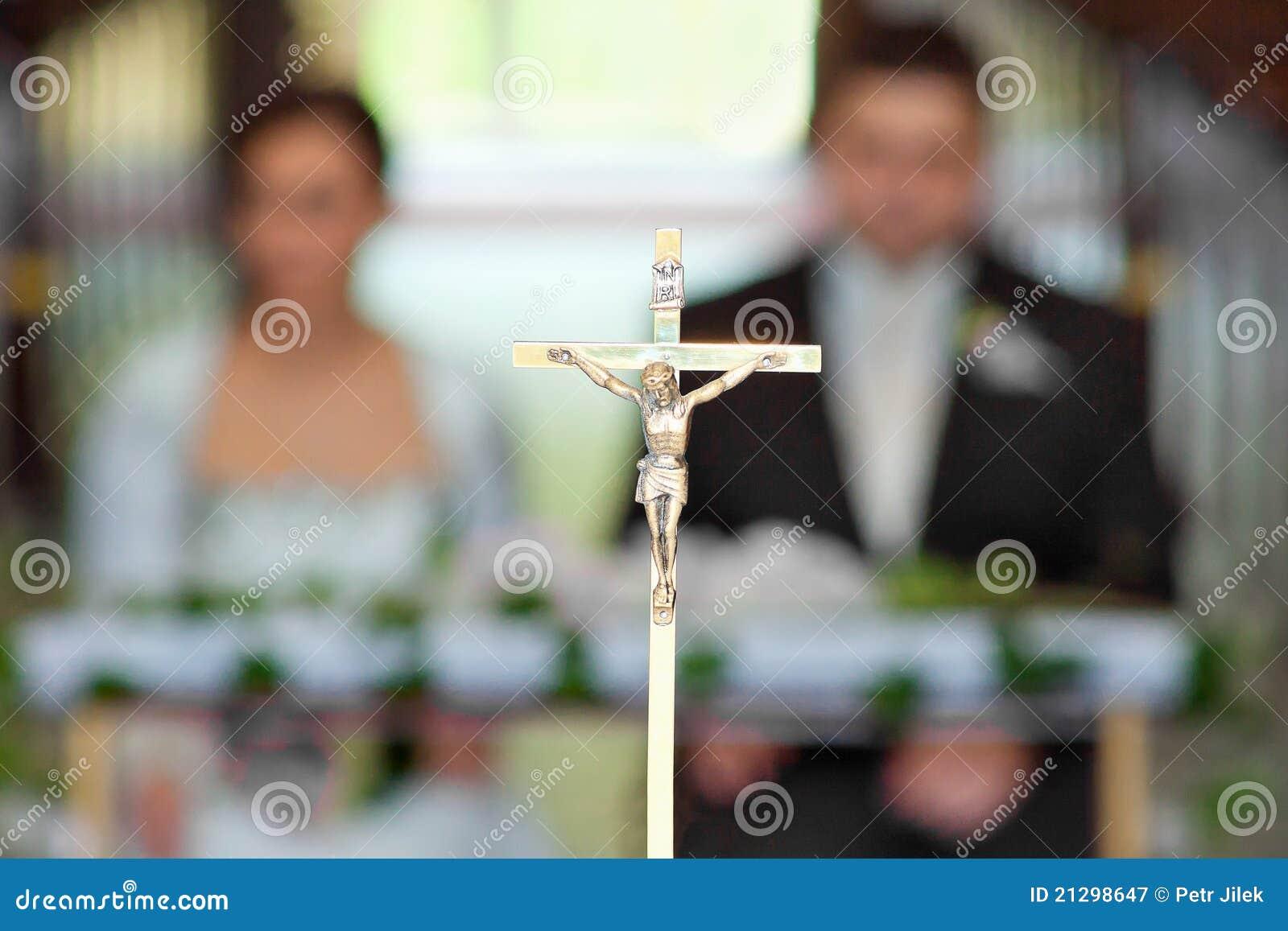 Ceremonii kościelny nowożeńcy target1773_1_