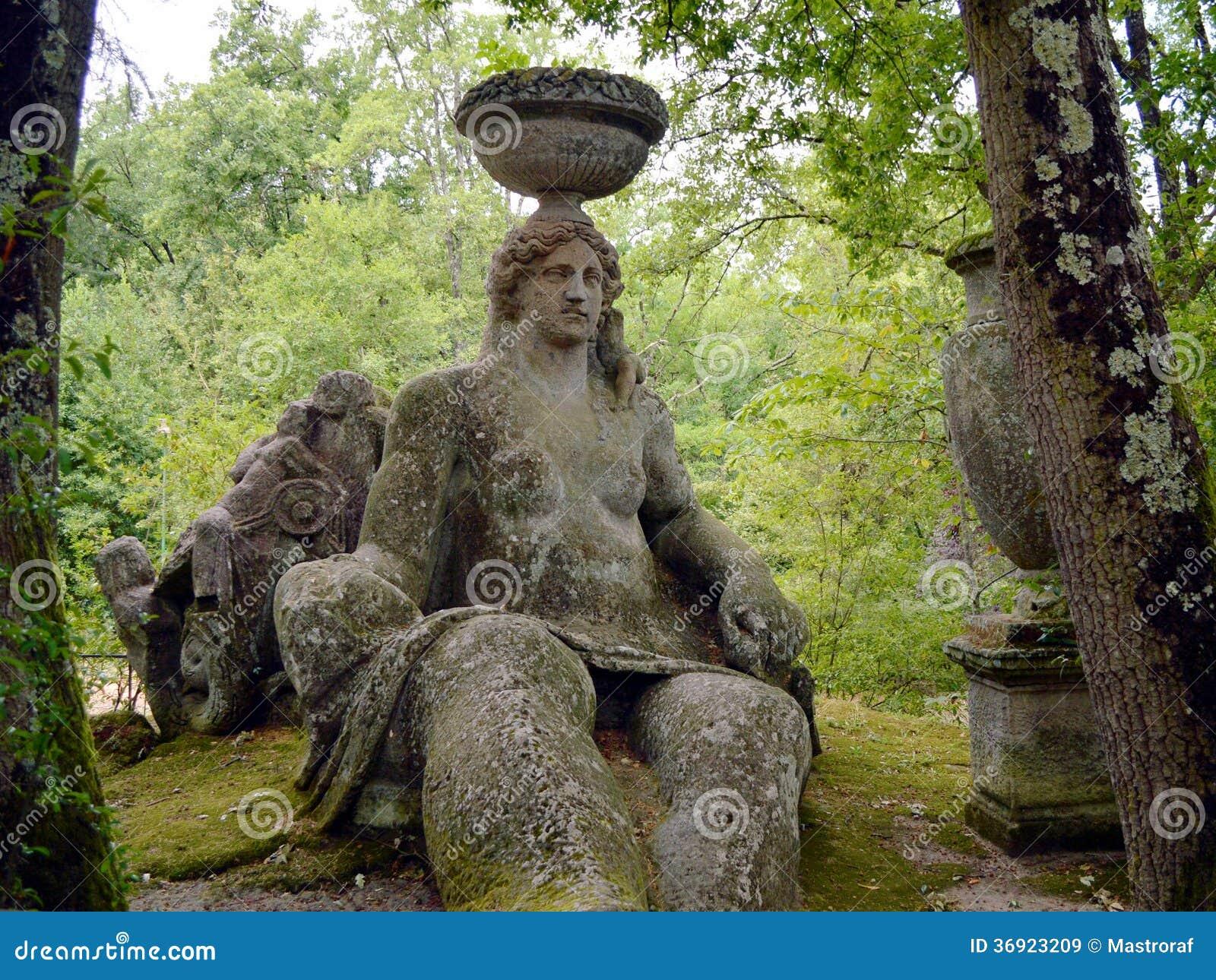 Ceres no bosque sagrado