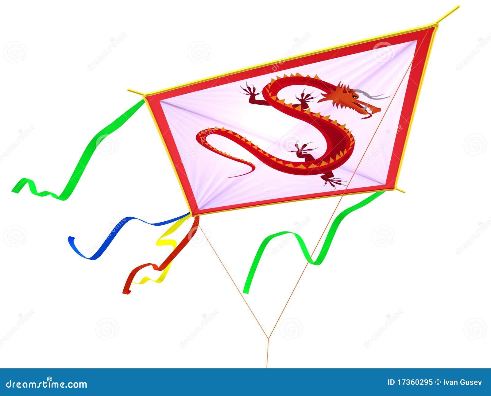 cerf volant avec un traditionnel photo libre de droits image 17360295. Black Bedroom Furniture Sets. Home Design Ideas