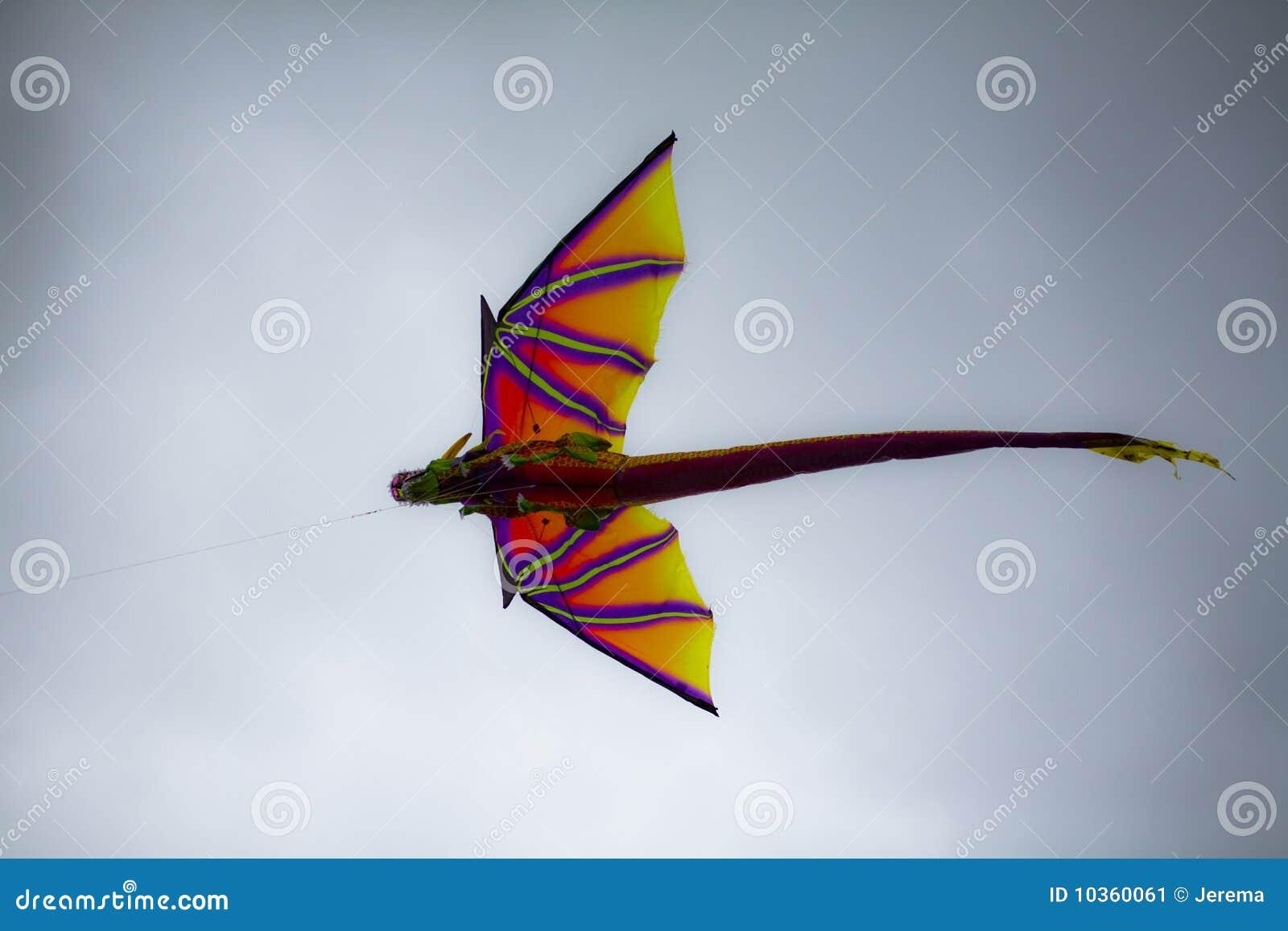 cerf volant de dragon image stock image 10360061. Black Bedroom Furniture Sets. Home Design Ideas