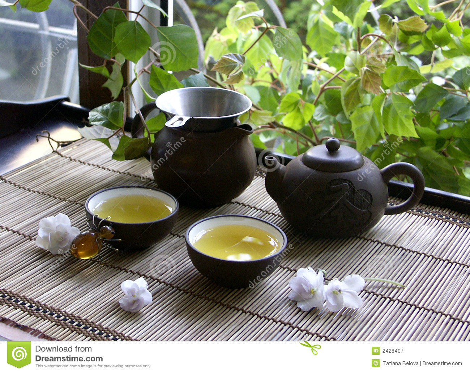 Cerimónia do chinês do chá