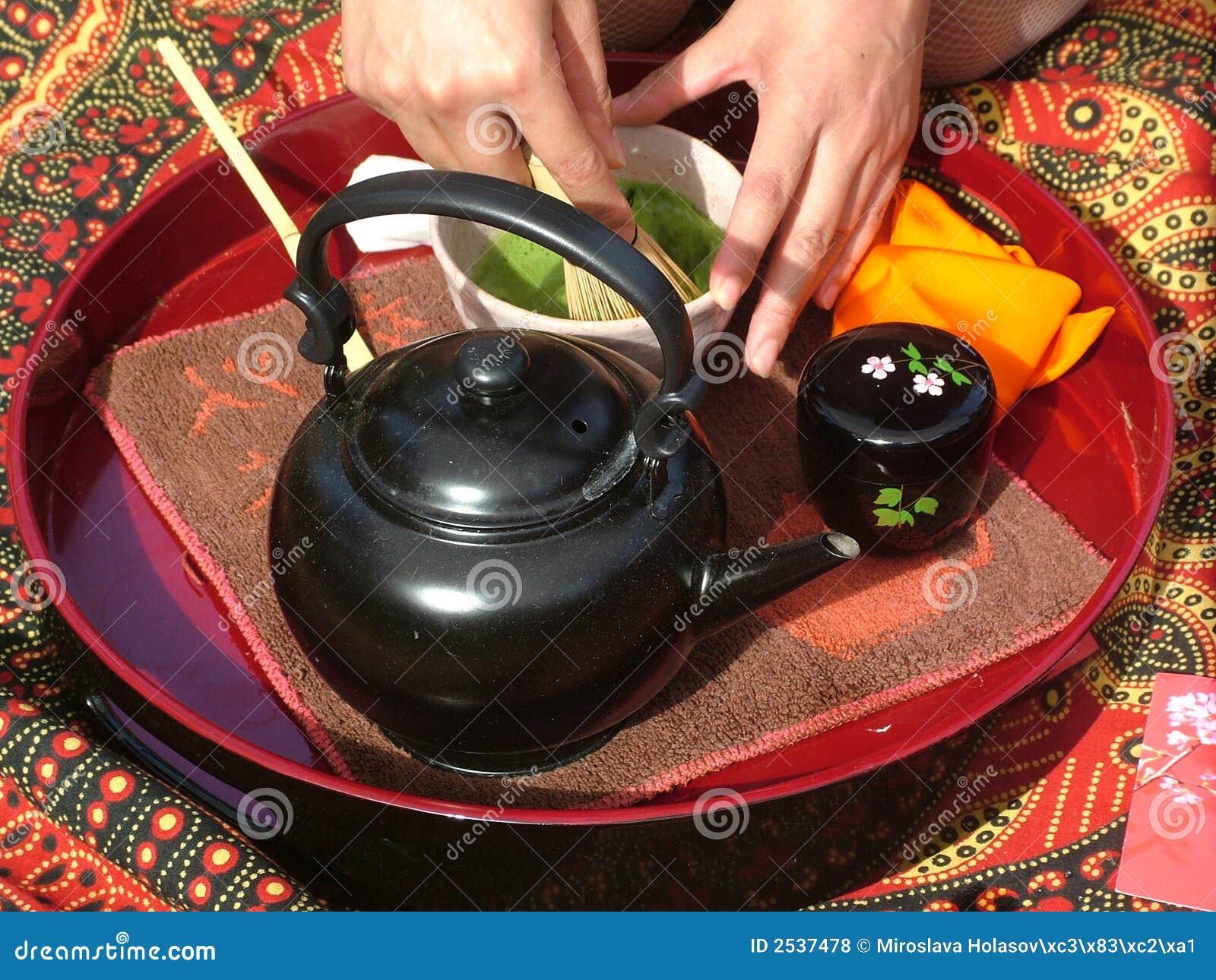 Cerimonia di tè giapponese