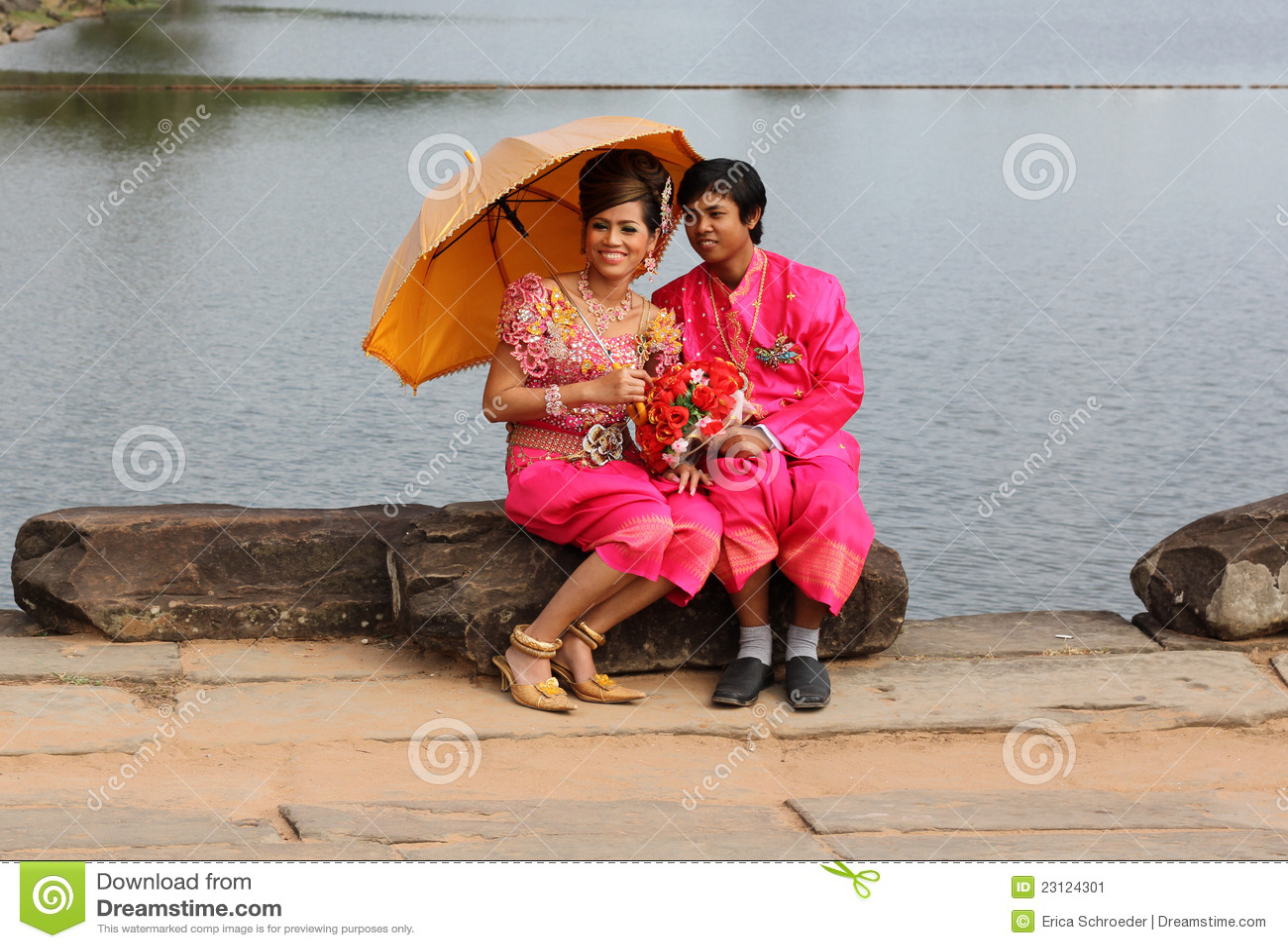 Cerimonia nuziale cambogiana