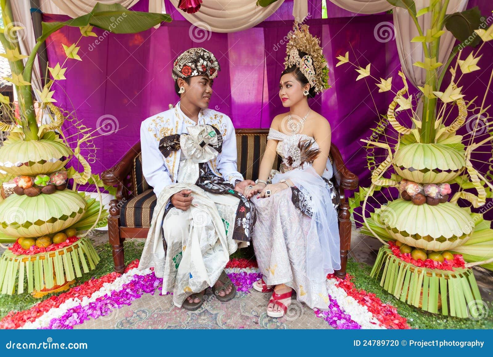 Cerimonia nuziale di Balinese