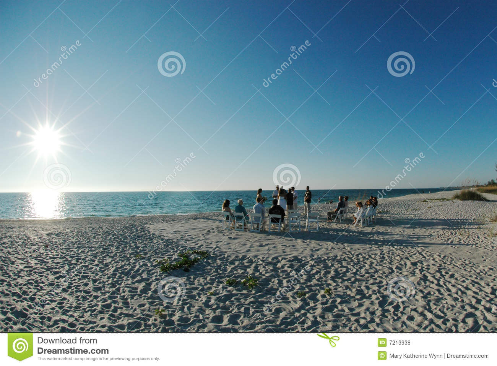 Cerimonia nuziale di spiaggia