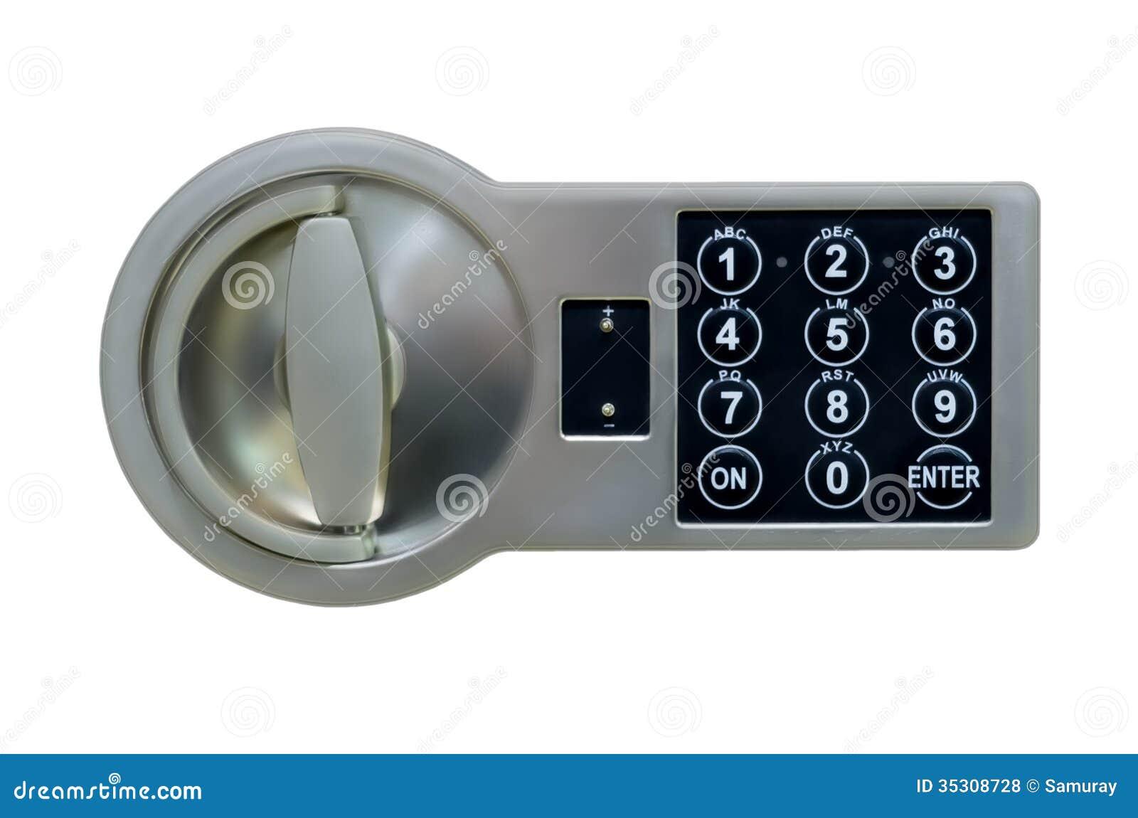 Cerradura de la caja fuerte