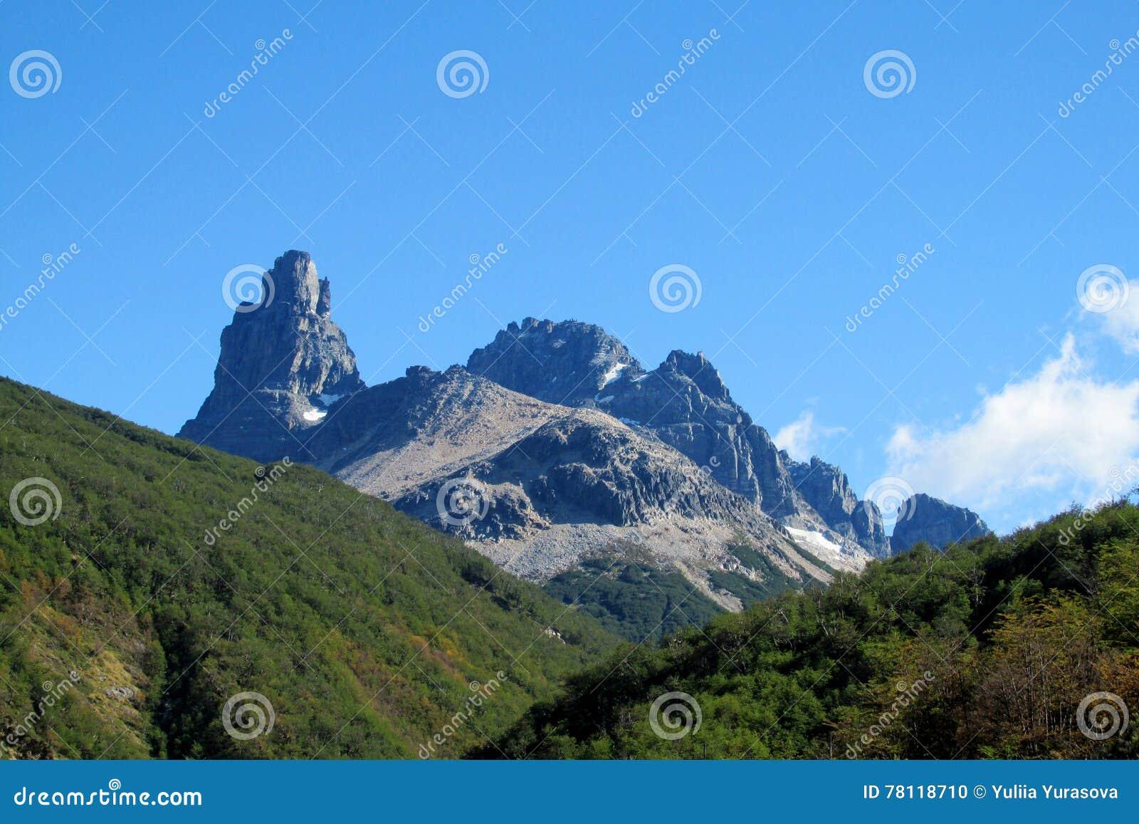 Cerro Castillo berg, Chile