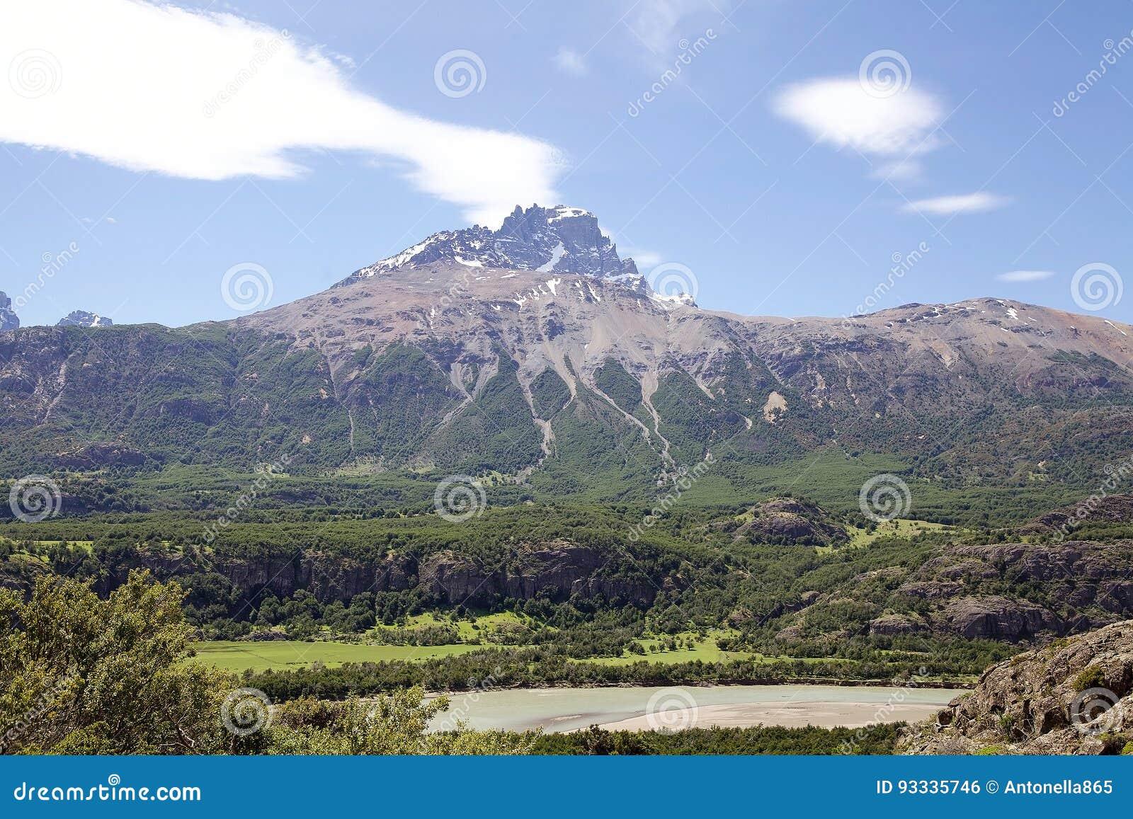 Cerro Castillo rocky peak, Chile