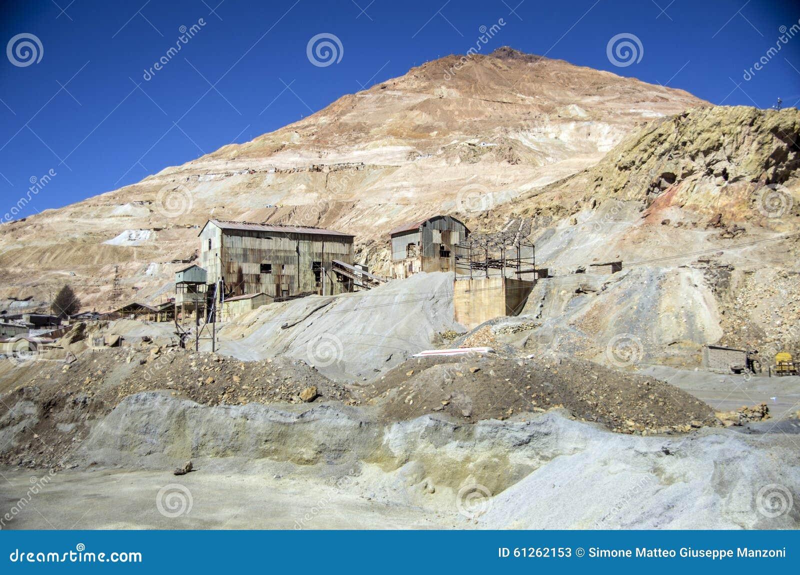 Cerro Rico Mining, Potosi, Bolivien