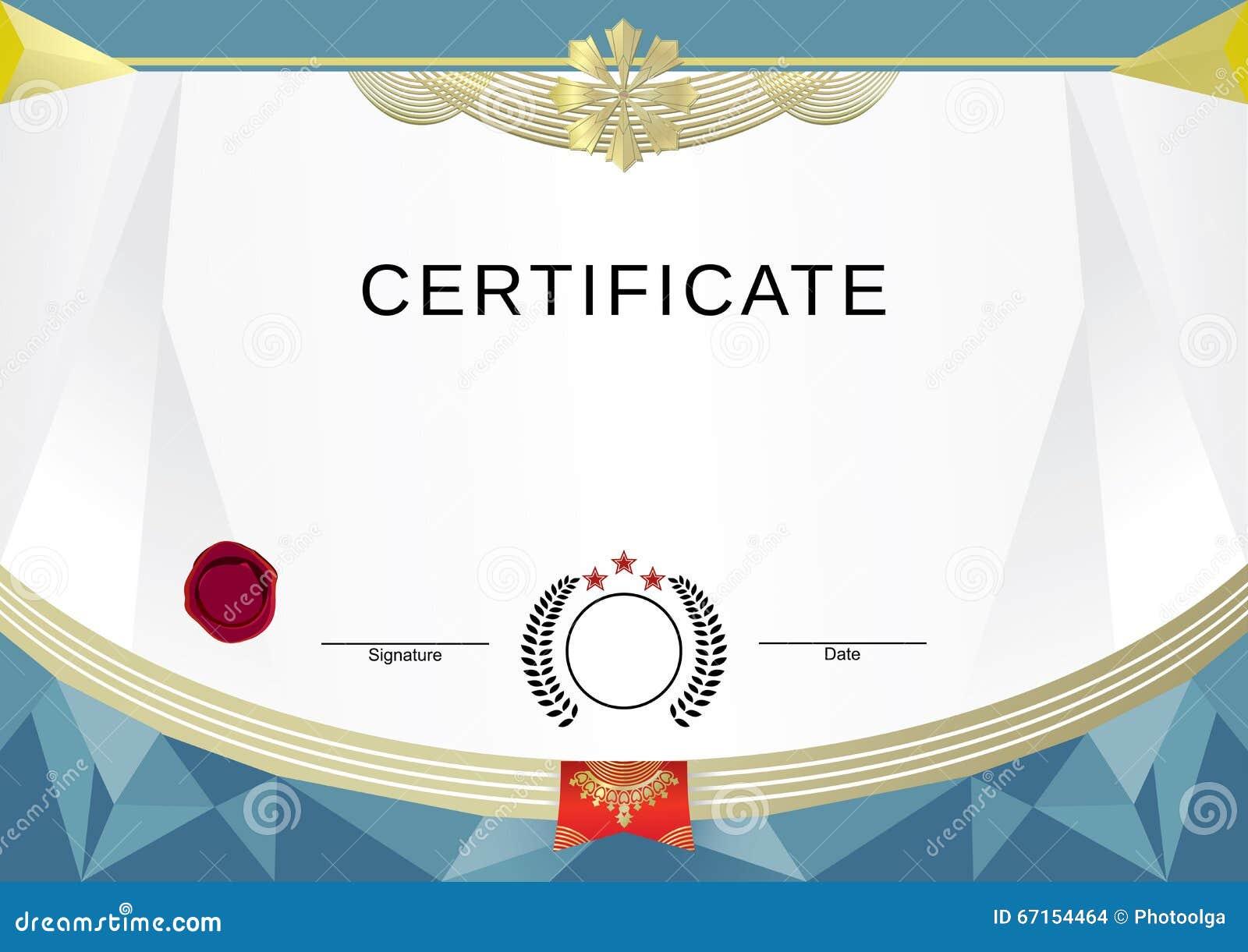 certificado-blanco-con-los-elementos-modernos-del-oro-67154464.jpg