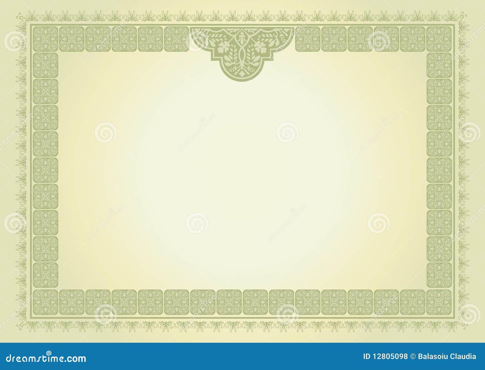 Certificado do diploma