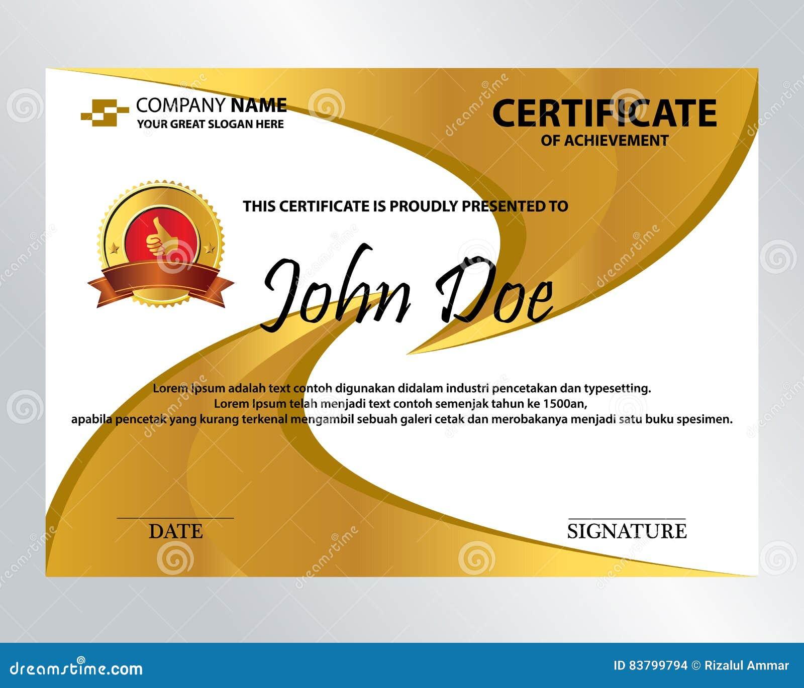 Certificado dourado de spining ilustrao do vetor ilustrao de download certificado dourado de spining ilustrao do vetor ilustrao de negcio invitation 83799794 stopboris Choice Image