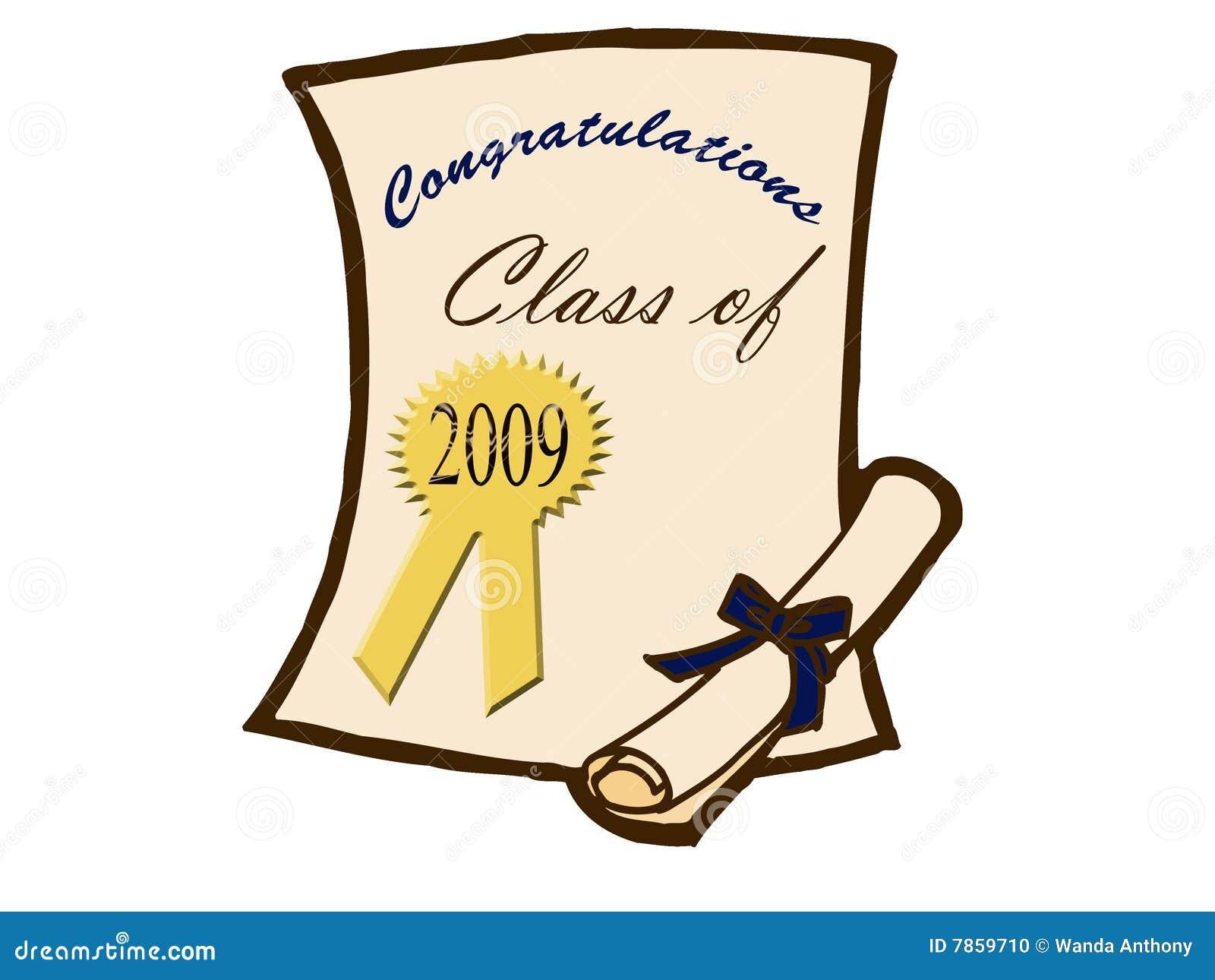 Certificado e diploma da graduação