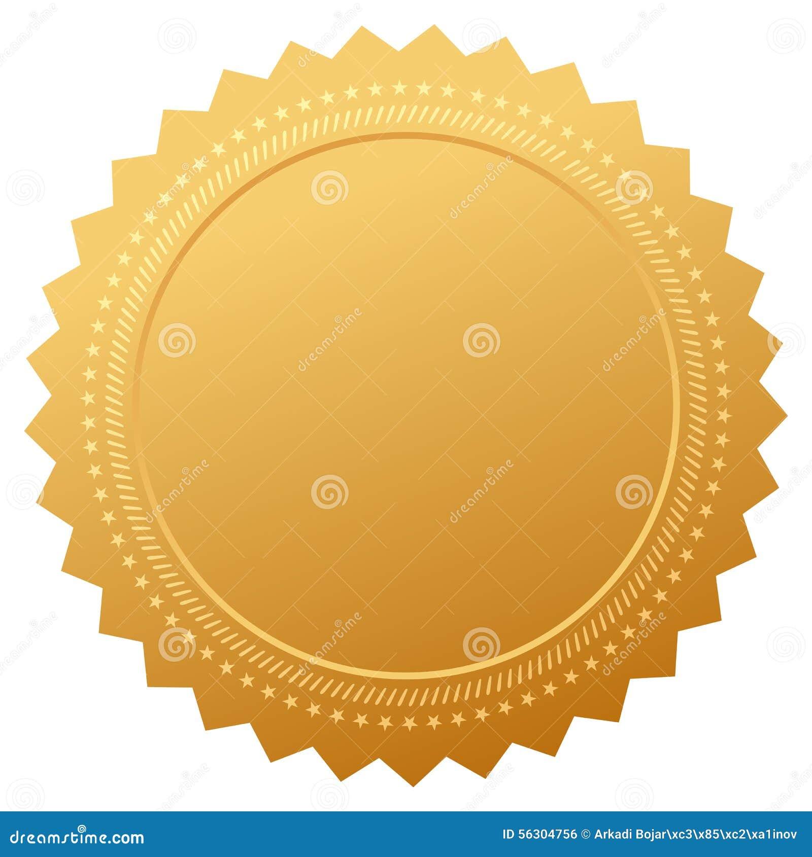 Certificado en blanco de la garantía