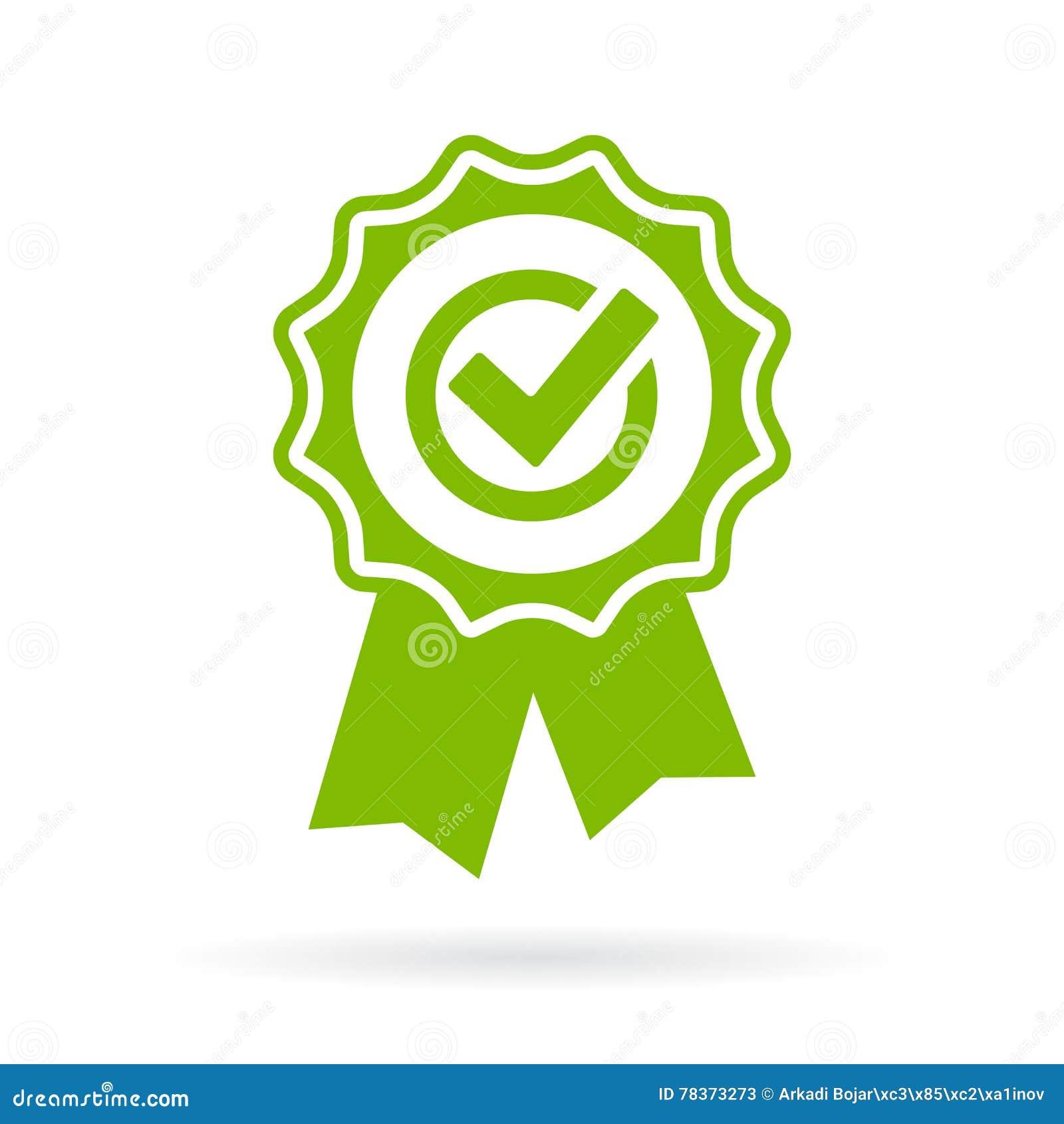 Certificado verde da aprovação
