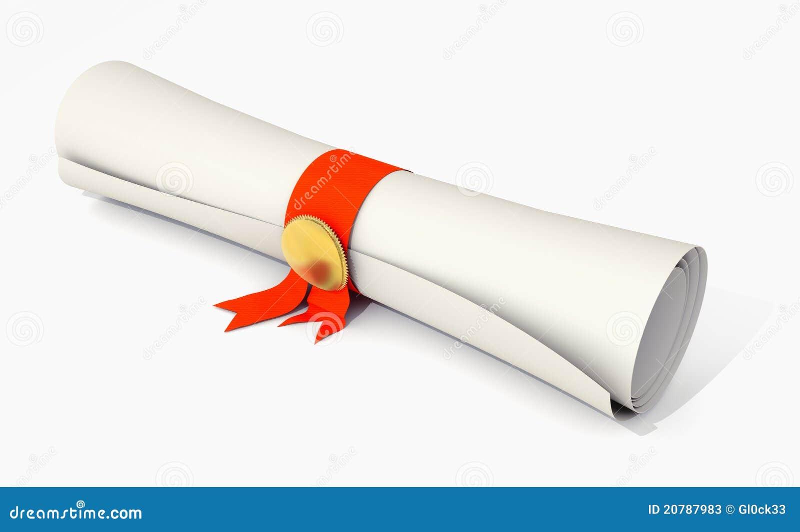 Certificate Stock Photos Image 20787983