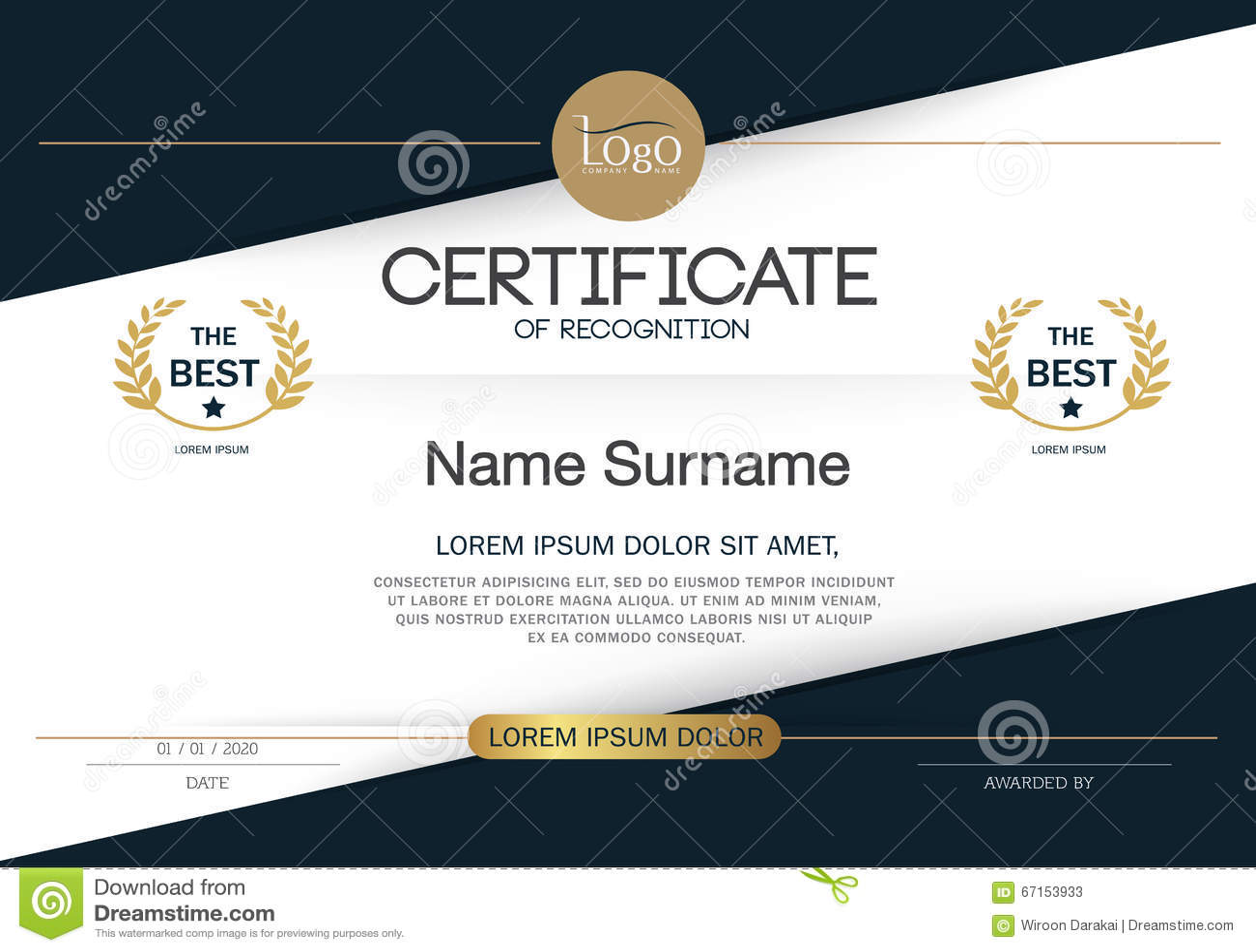 Certificate of achievement frame design template layout template certificate of achievement frame design template layout template in a4 size xflitez Gallery