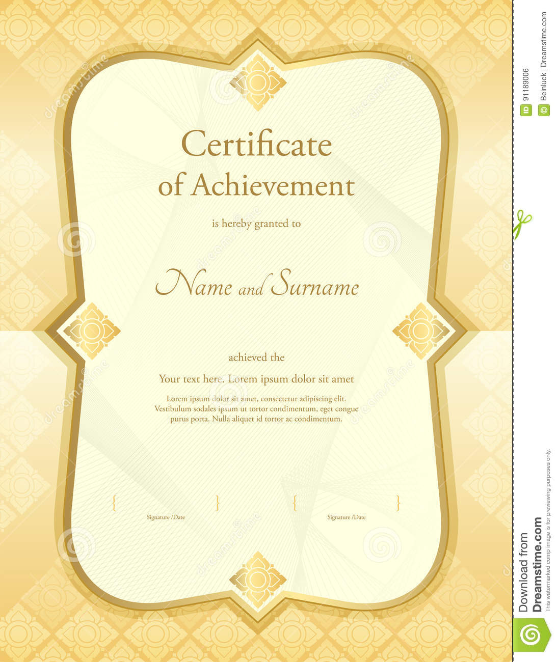 Certificate Of Retirement Template