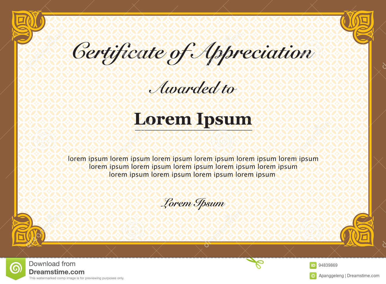 certificate of appreciation frame