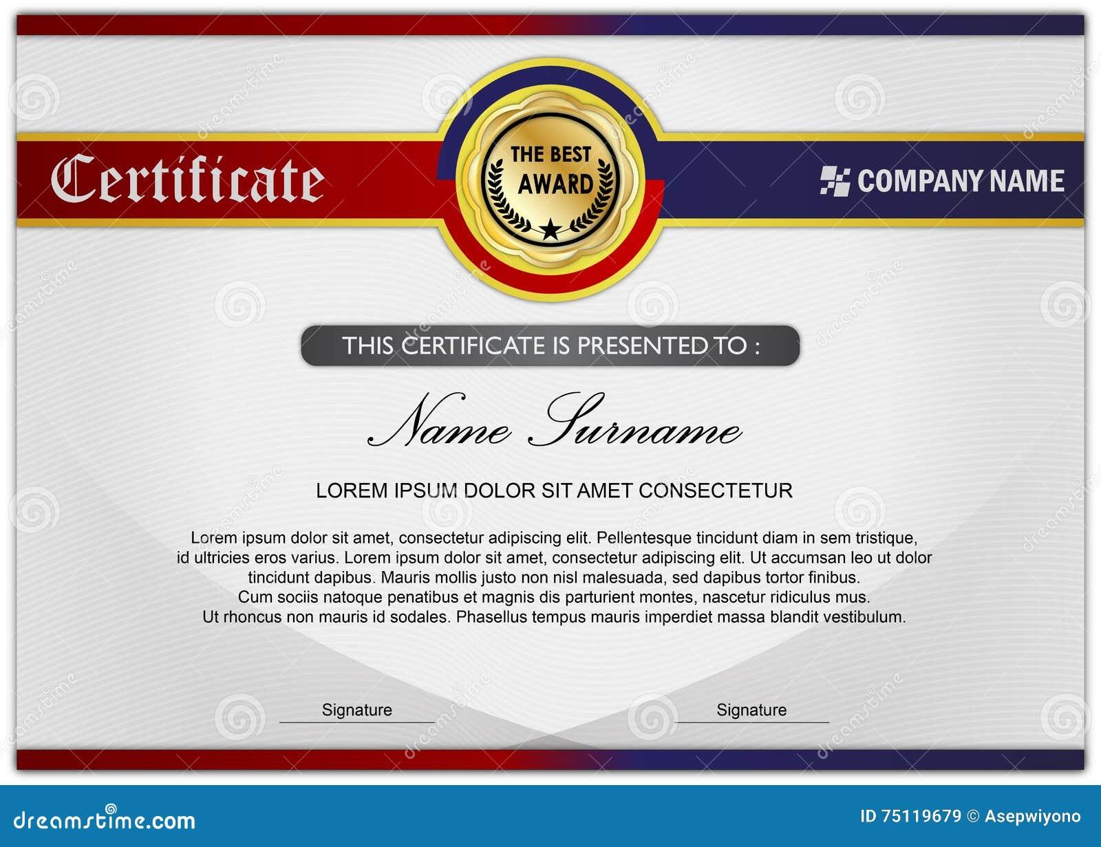 Certificate award diploma template circle icon stock certificate award diploma template circle icon xflitez Choice Image