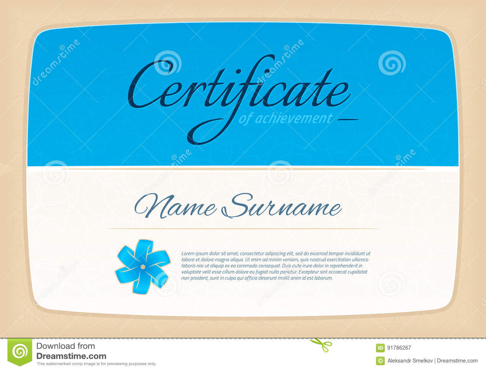 Certificate awards diploma horizontal in a4 size pattern stock certificate awards diploma horizontal in a4 size pattern 1betcityfo Image collections