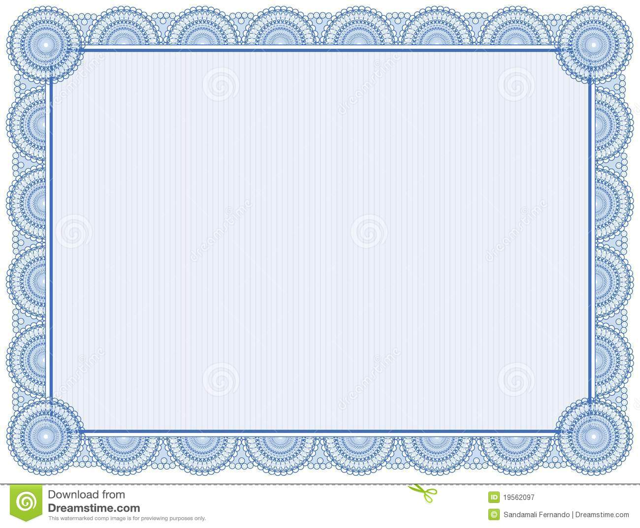 certificate background stock vector  illustration of