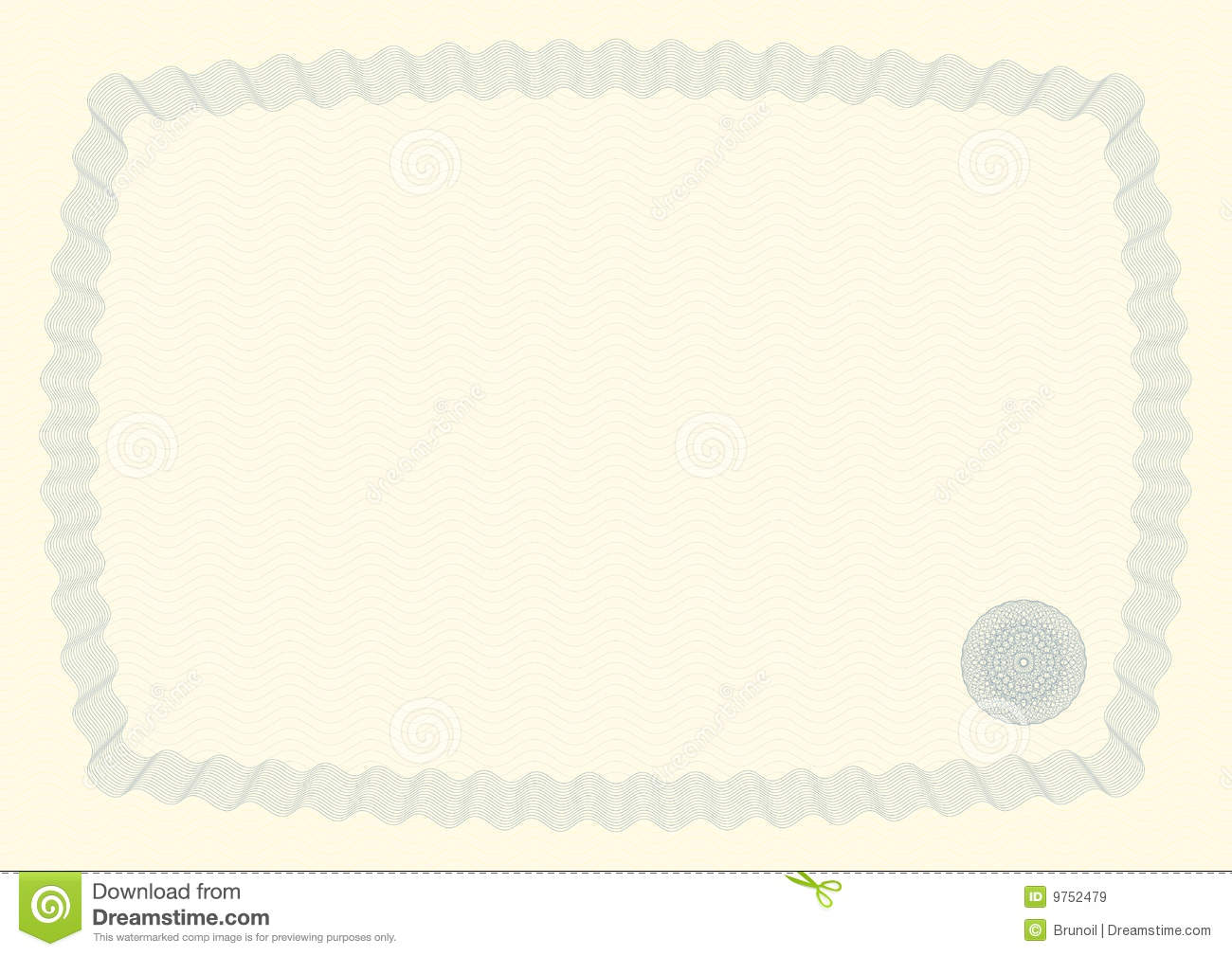 Certificate Background Iii Royalty Free Stock Images