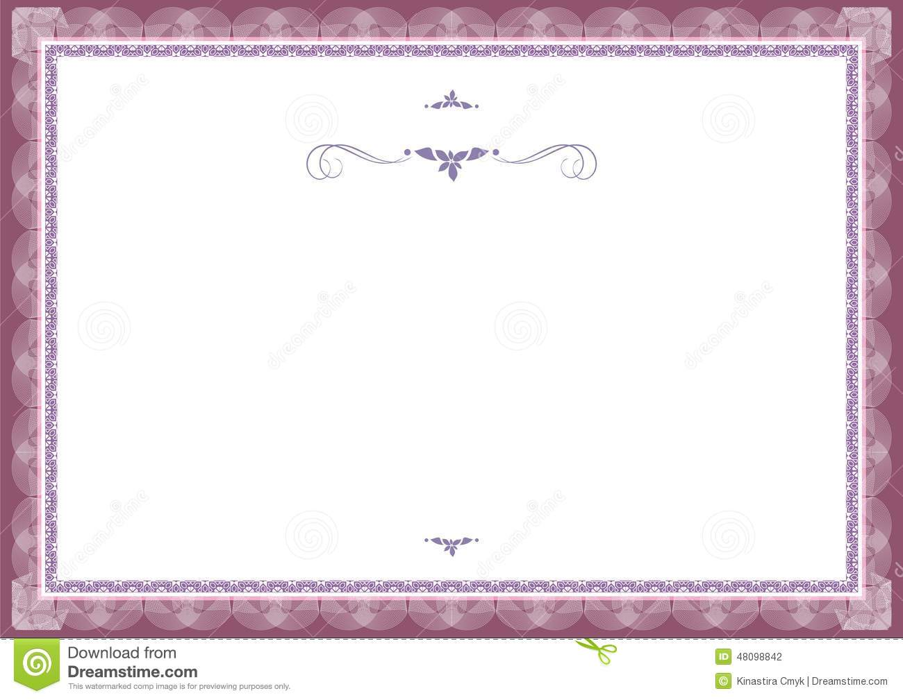 Stock Photo: Certificate background templates3. Image: