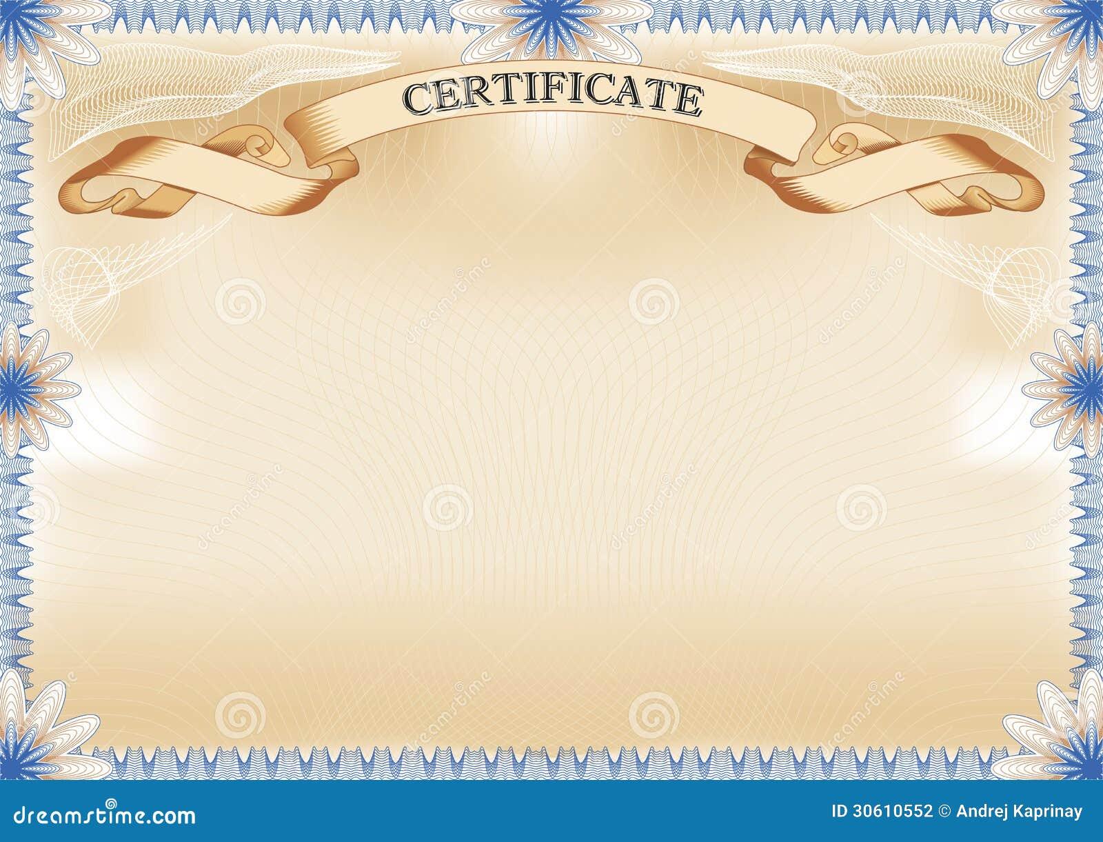 beautiful certificate borders